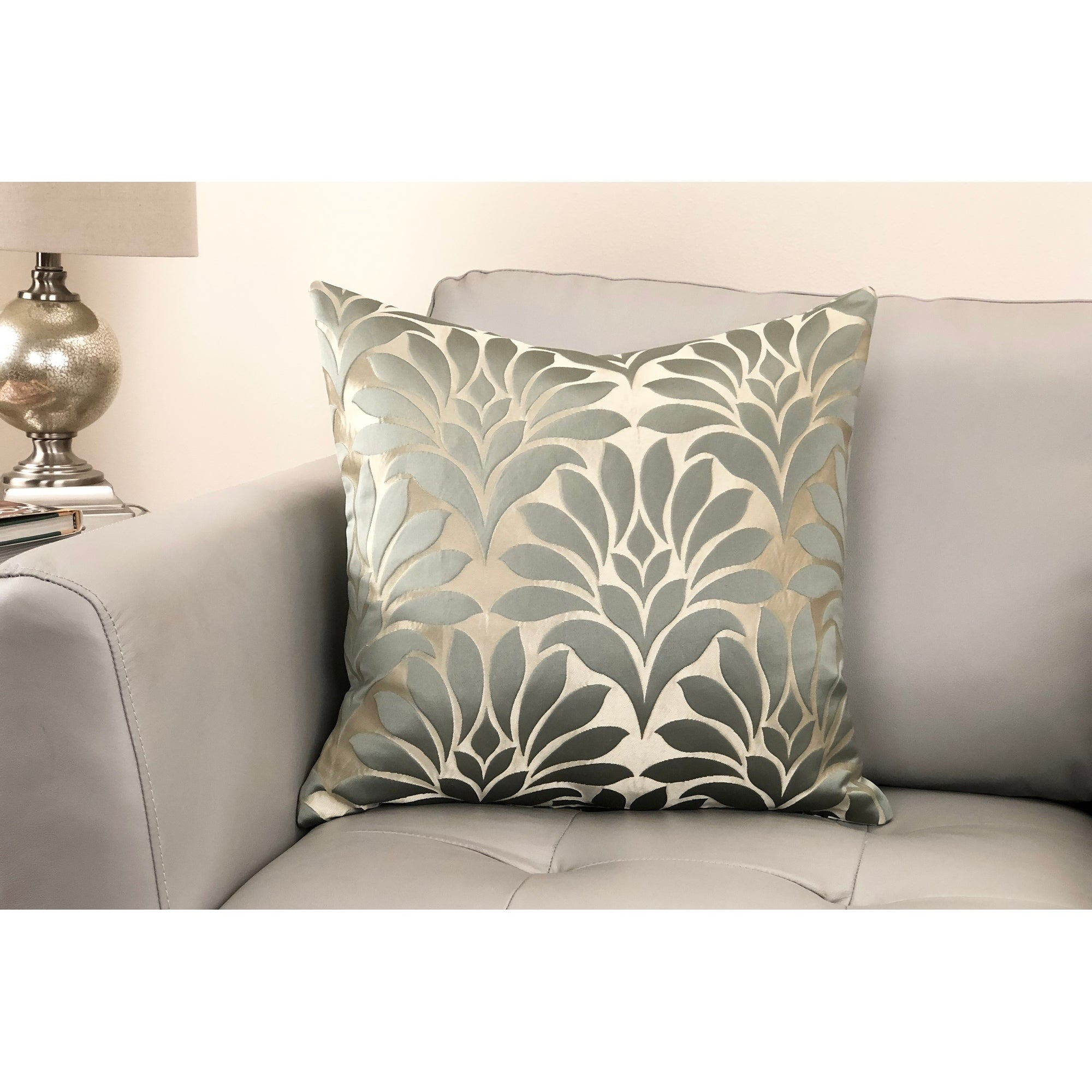 Shop Gisela Contemporary Decorative Feather and Down Throw Pillow ...