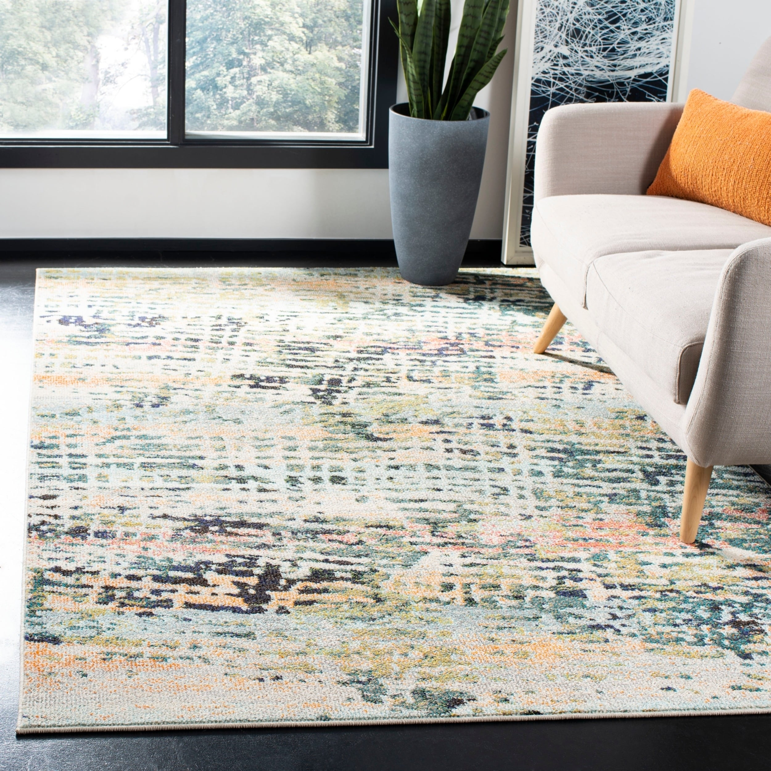 NEW Navy Braided Rug by Madison