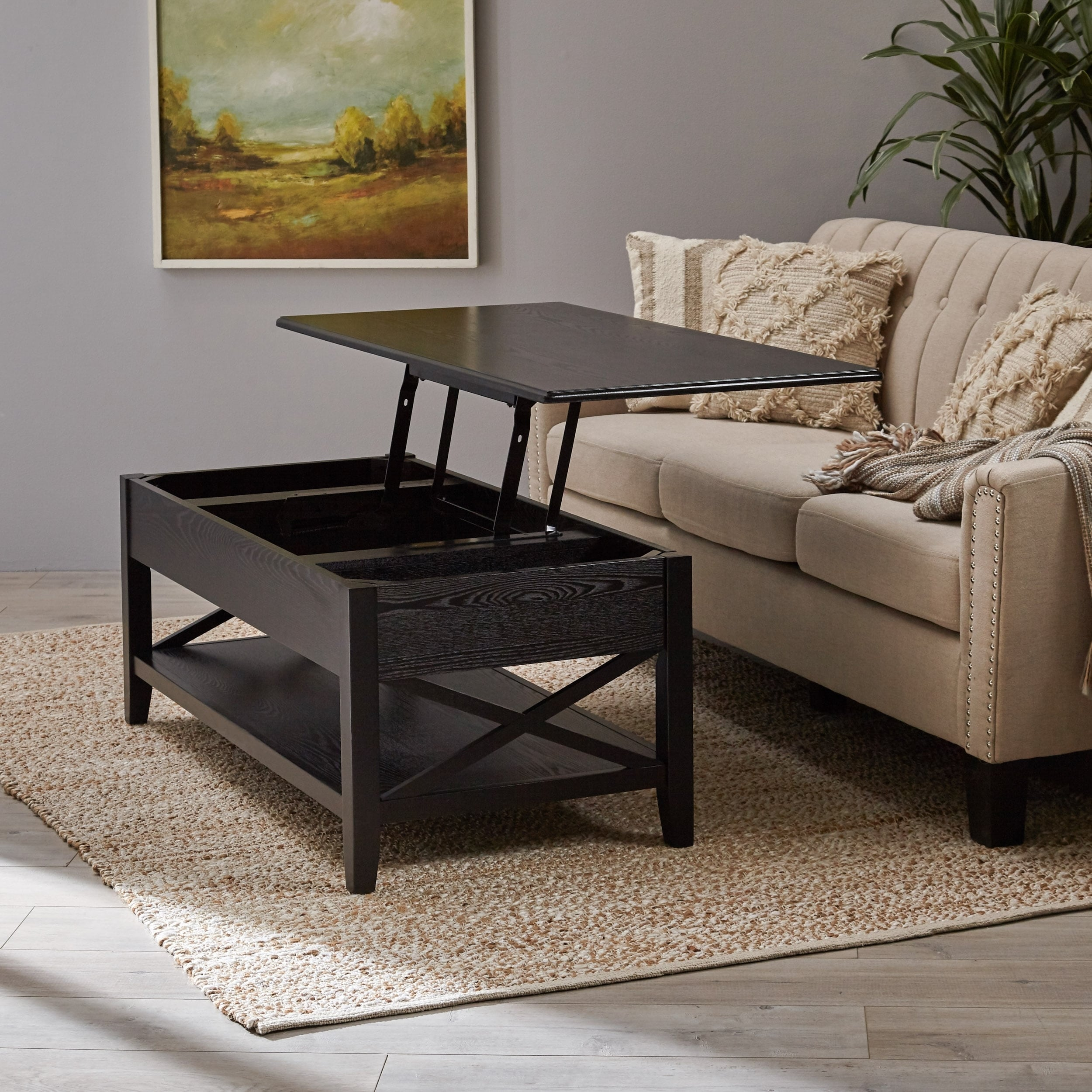 Farmhouse Lift Top Coffee Table.Decatur Farmhouse Faux Wood Lift Top Coffee Table By Christopher Knight Home
