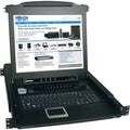 "Tripp Lite 8-Port Rack Console KVM Switch w/ 17"" LCD PS/2 1U"