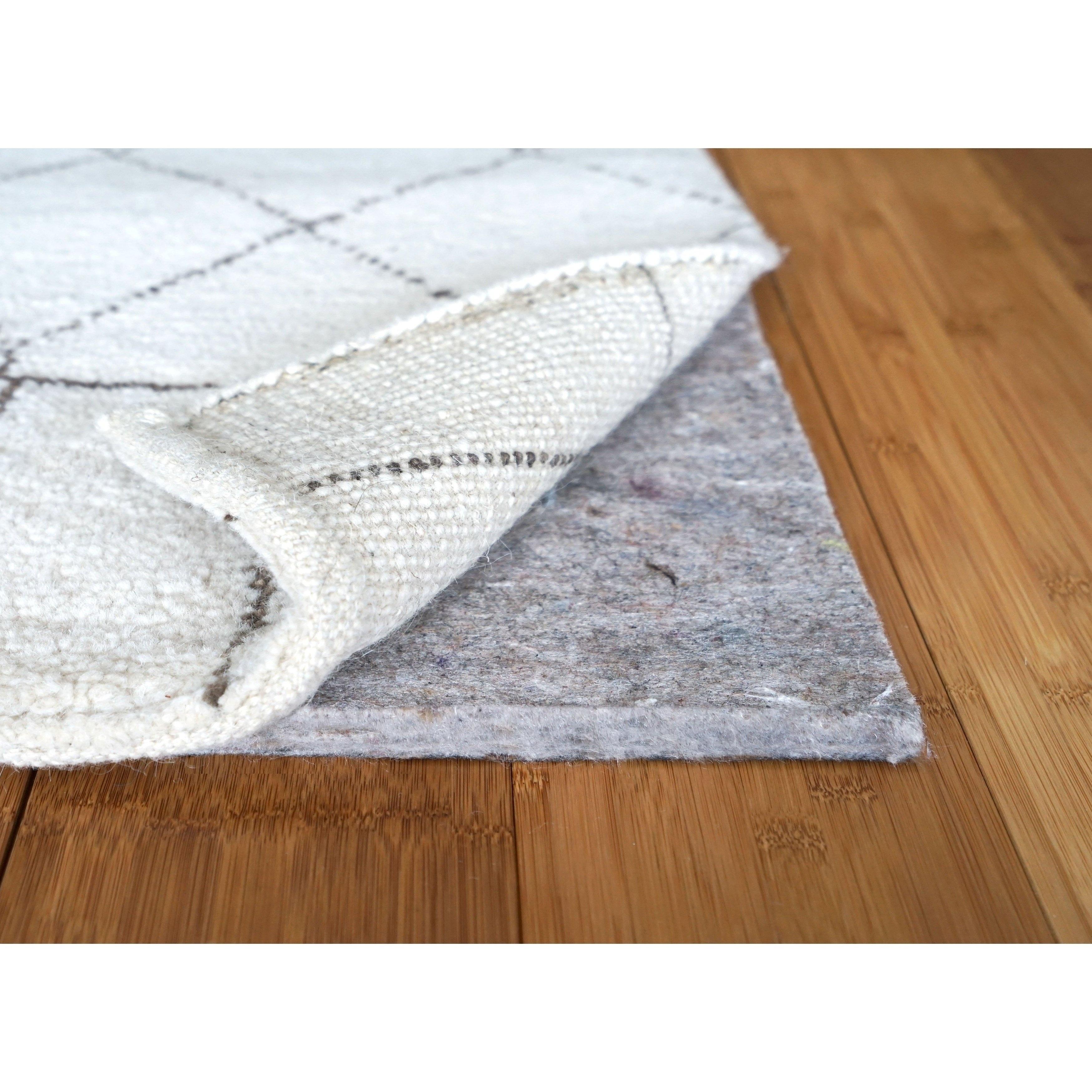 Shop 1 4 Inch Superior Felt Thin Rug Pad For Hardwood Floors Non
