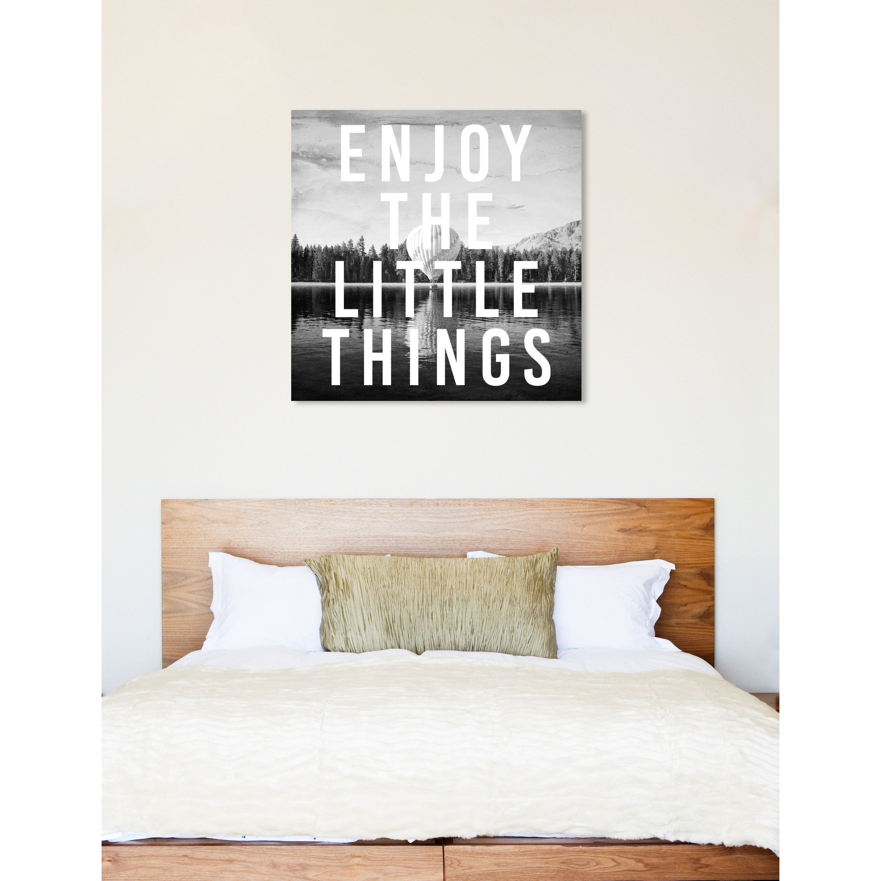 Shop Oliver Gal Enjoy The View Inspirational Quotes Wall Art