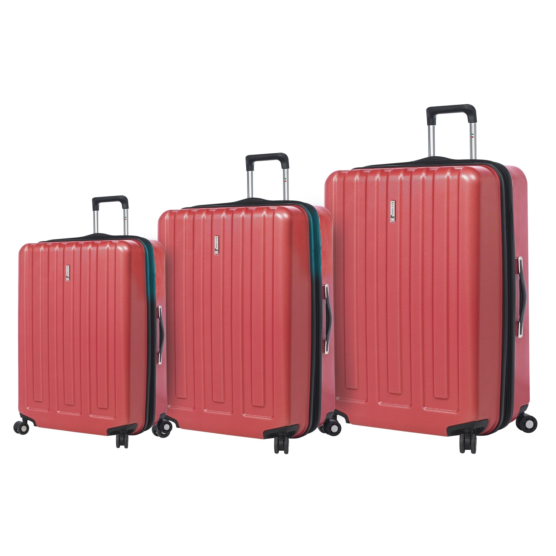 a25efed8a Shop Mia Toro ITALY Primario Hardside Spinner Luggage 3PC Set - On ...