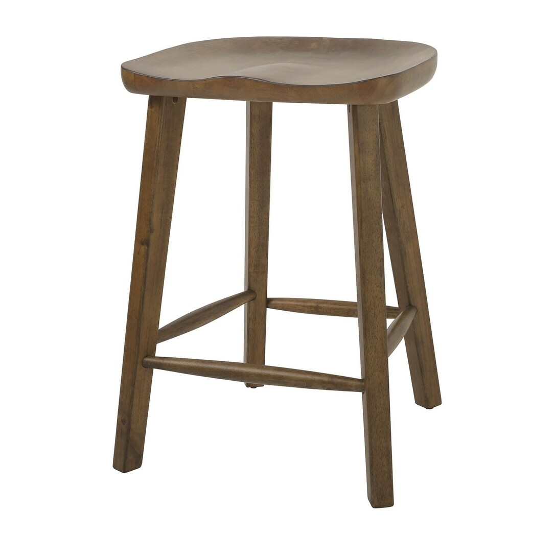Shop Nada Home Brands Tractor 25 Counter Height Stool In