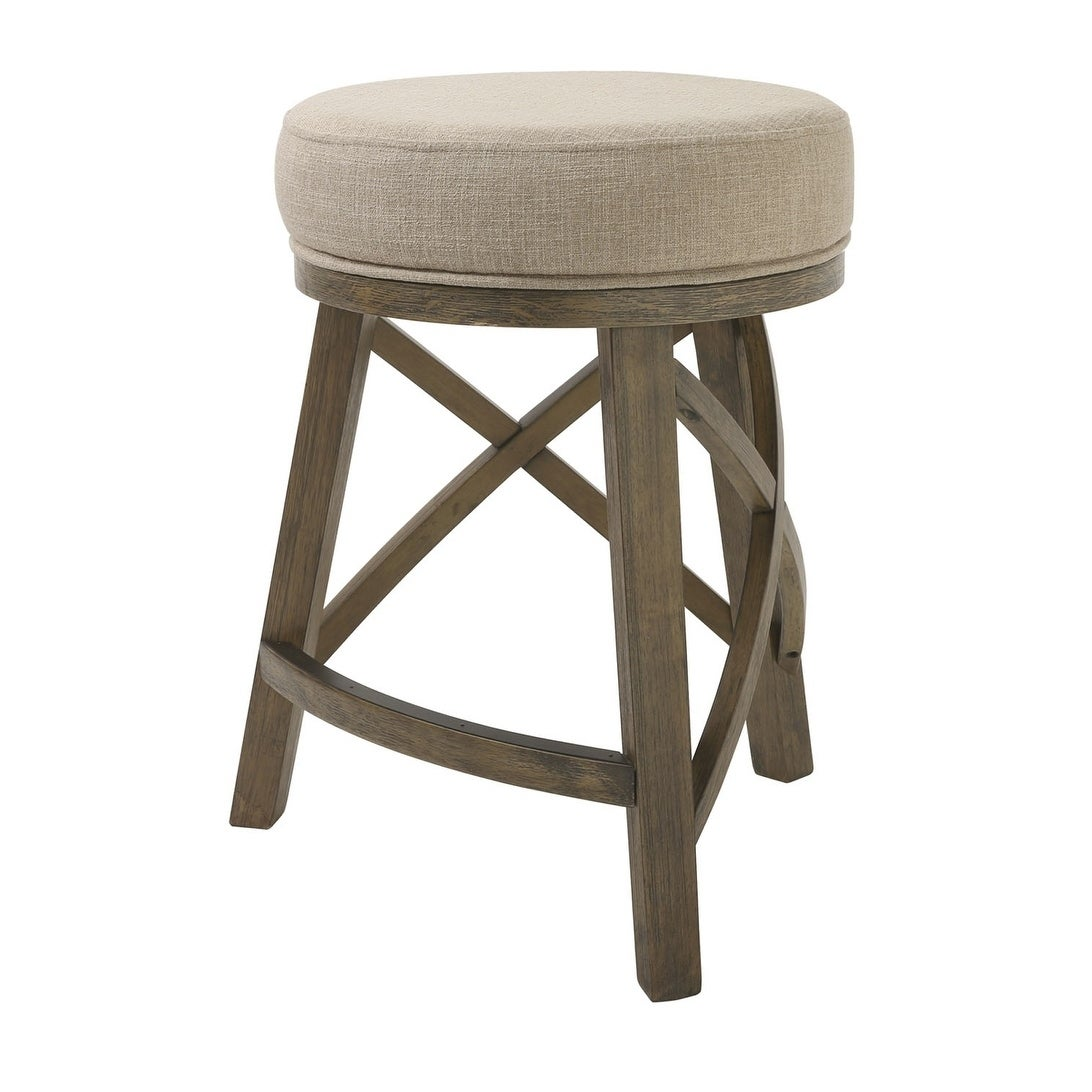 Shop Nada Home Brands Kinsley 25 Counter Height Swivel Stool With
