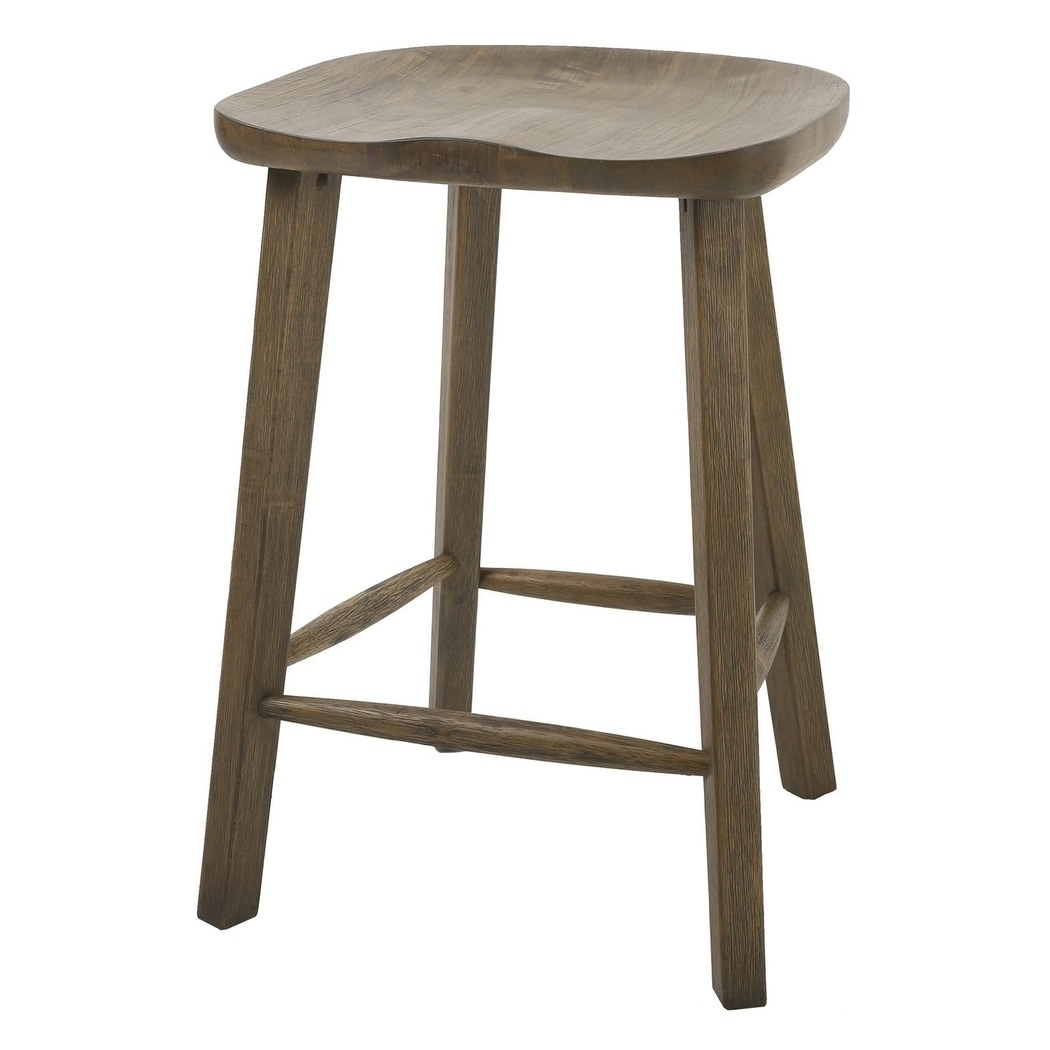 Shop Nada Home Brands Tractor 25 Counter Height Stool In Vintage
