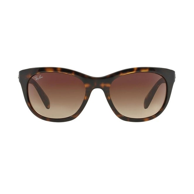 e57e3ff725 Shop Ray-Ban RB4216 Women Sunglasses - Brown - Free Shipping Today -  Overstock - 26421404