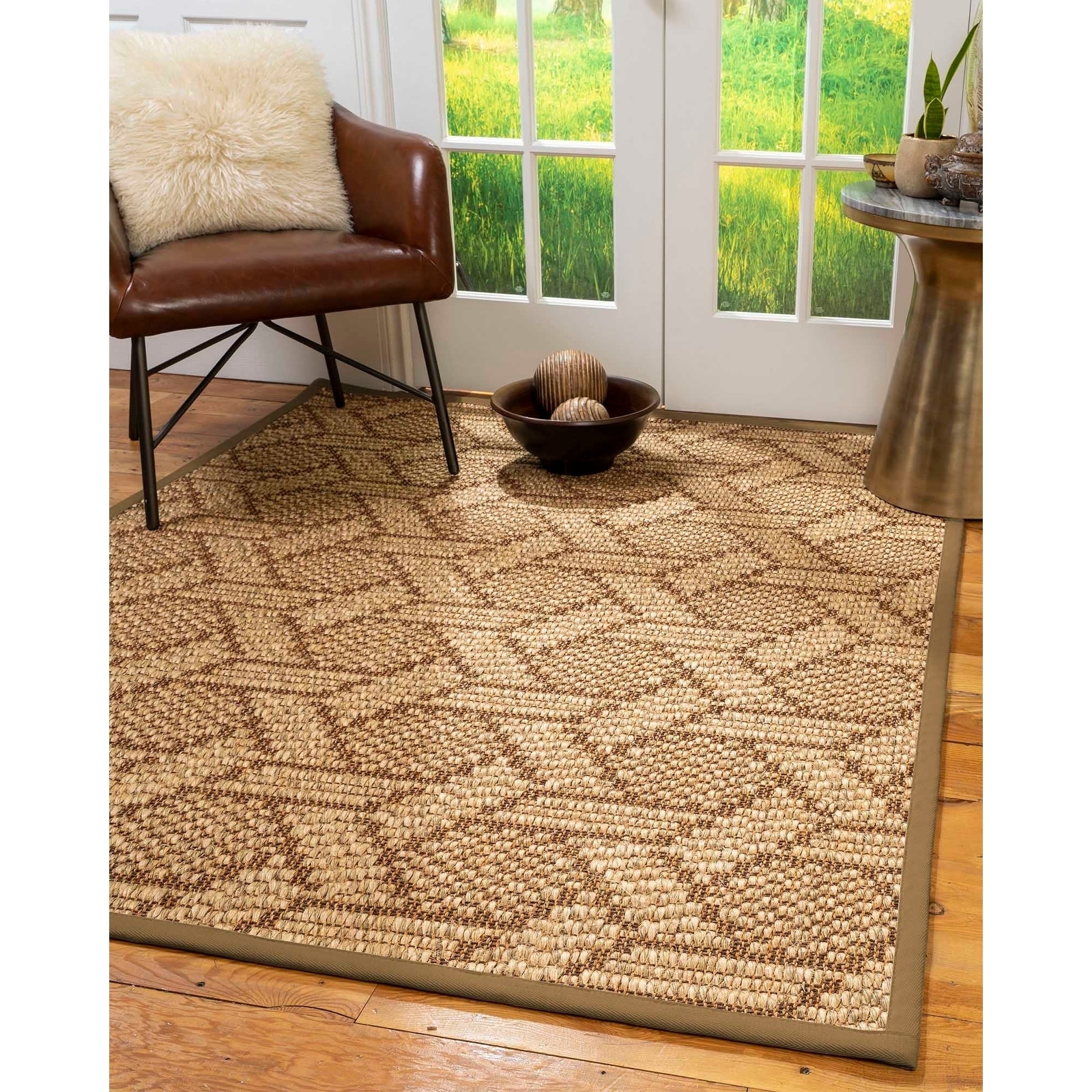 Shop Natural Area Rugs 100 Natural Fiber Handmade Chunky Seattle