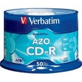 Verbatim CD-R 700MB 52X DataLifePlus with Branded Surface - 50pk Spin