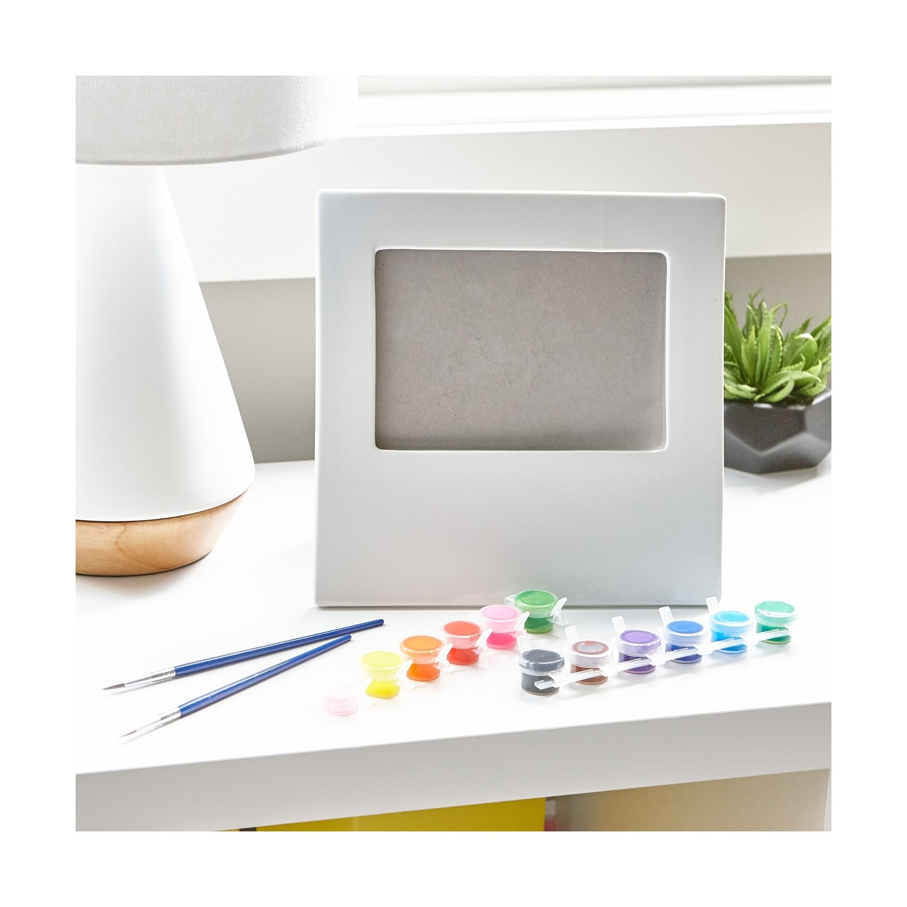 Shop Paint Your Own Porcelain Picture Frame Free Shipping On