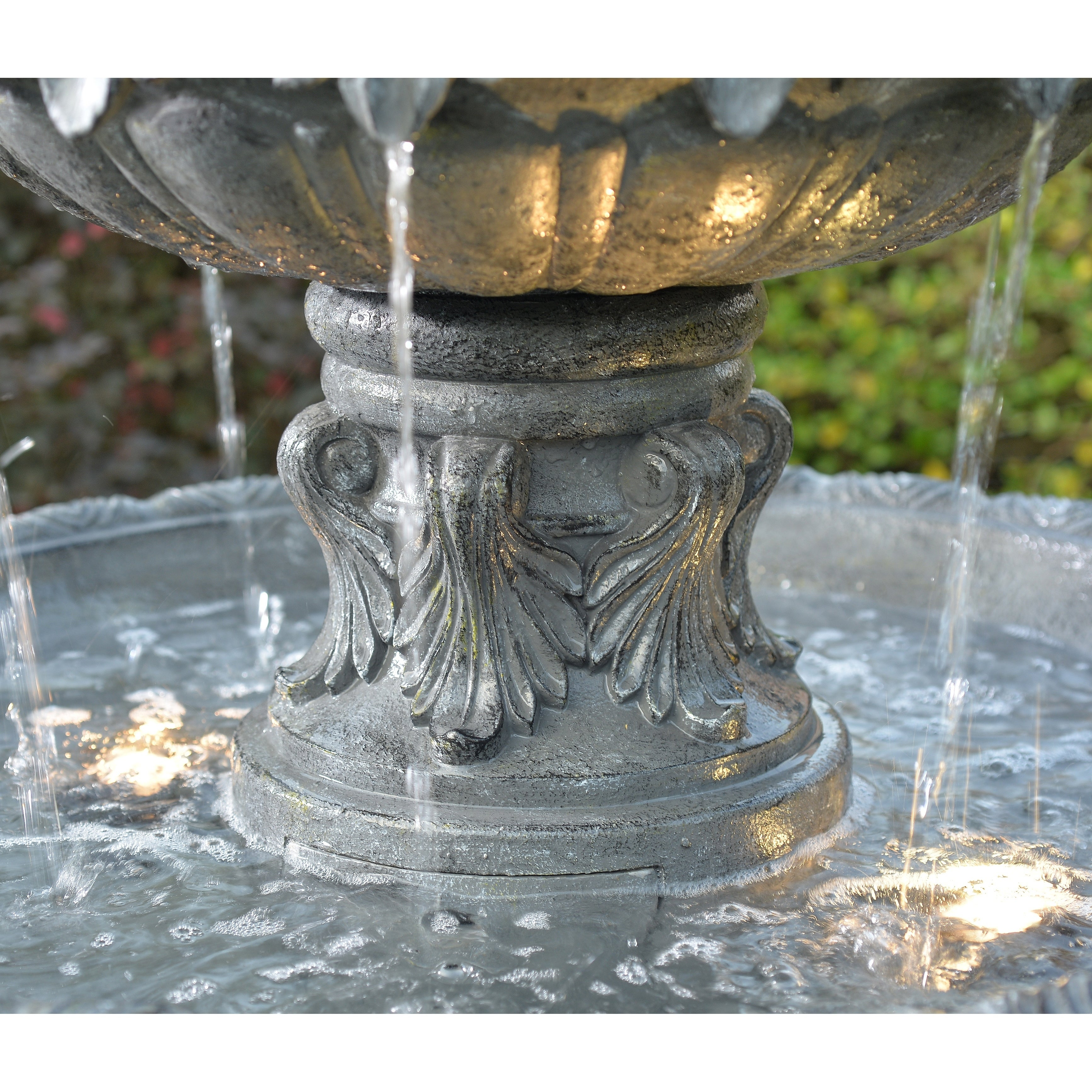 5b082f9ed2f Shop Antoni 62 Inch Height 3-Tiered Outdoor Floor Fountain - Free Shipping  Today - Overstock - 26564343