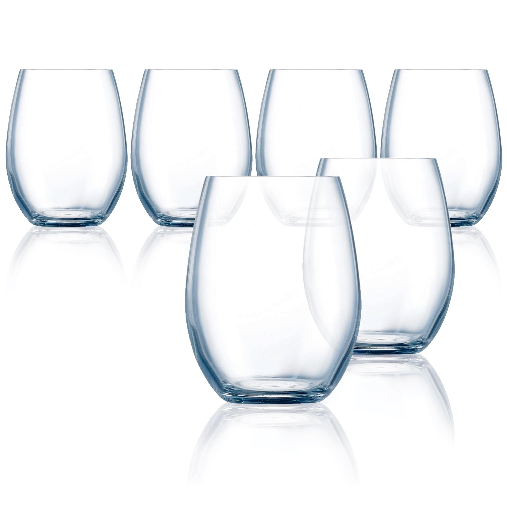 bea9b564fee Shop Chef & Sommelier Grand Vin All Purpose Stemless Wine Glass, 14.75  ounce, Set of 6 - 14.75 oz - Free Shipping On Orders Over $45 - Overstock -  26564772
