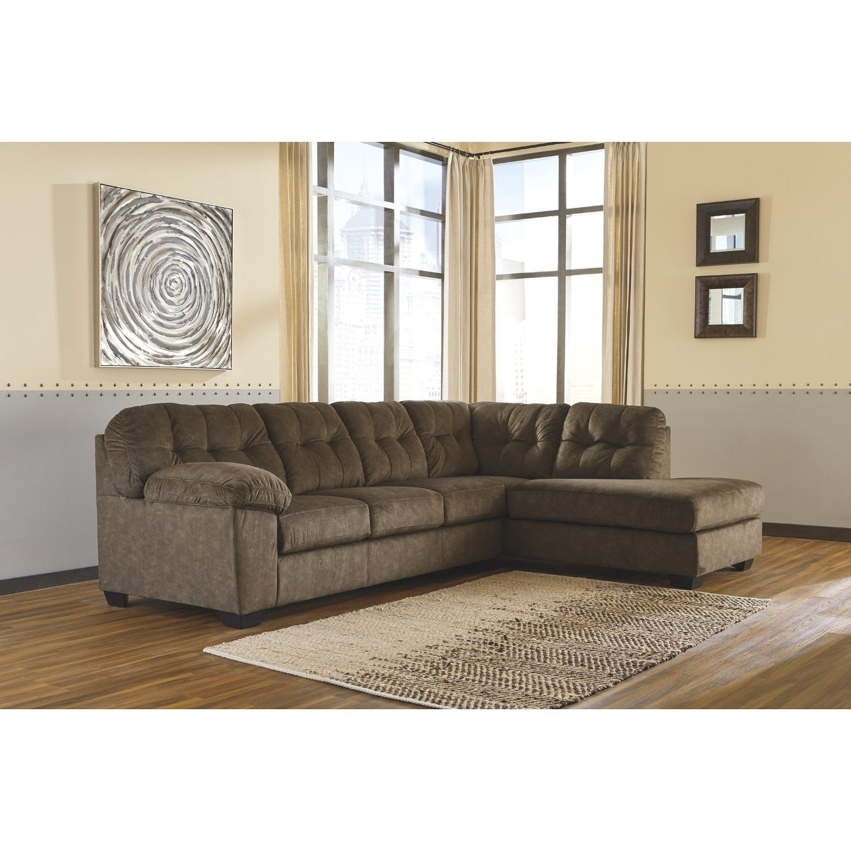 Shop Accrington 2-Piece Sectional - LAF Corner Chaise & RAF Sofa ...