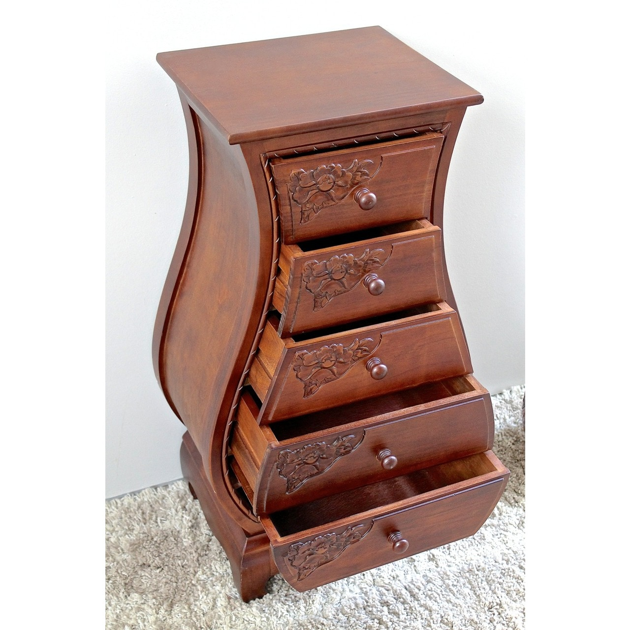 wood home detail colette dresser kuo product carved country kathy french