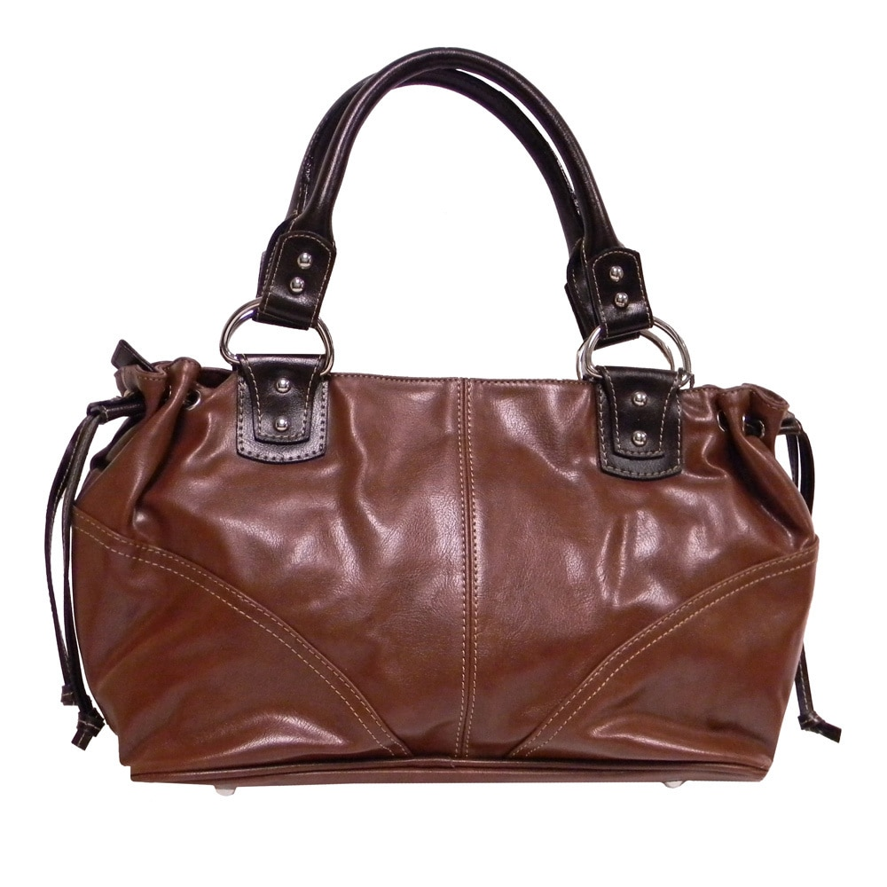 3242cf23a294 Shop Rina Rich Rodeo Satchel - Free Shipping Today - Overstock.com - 2677705