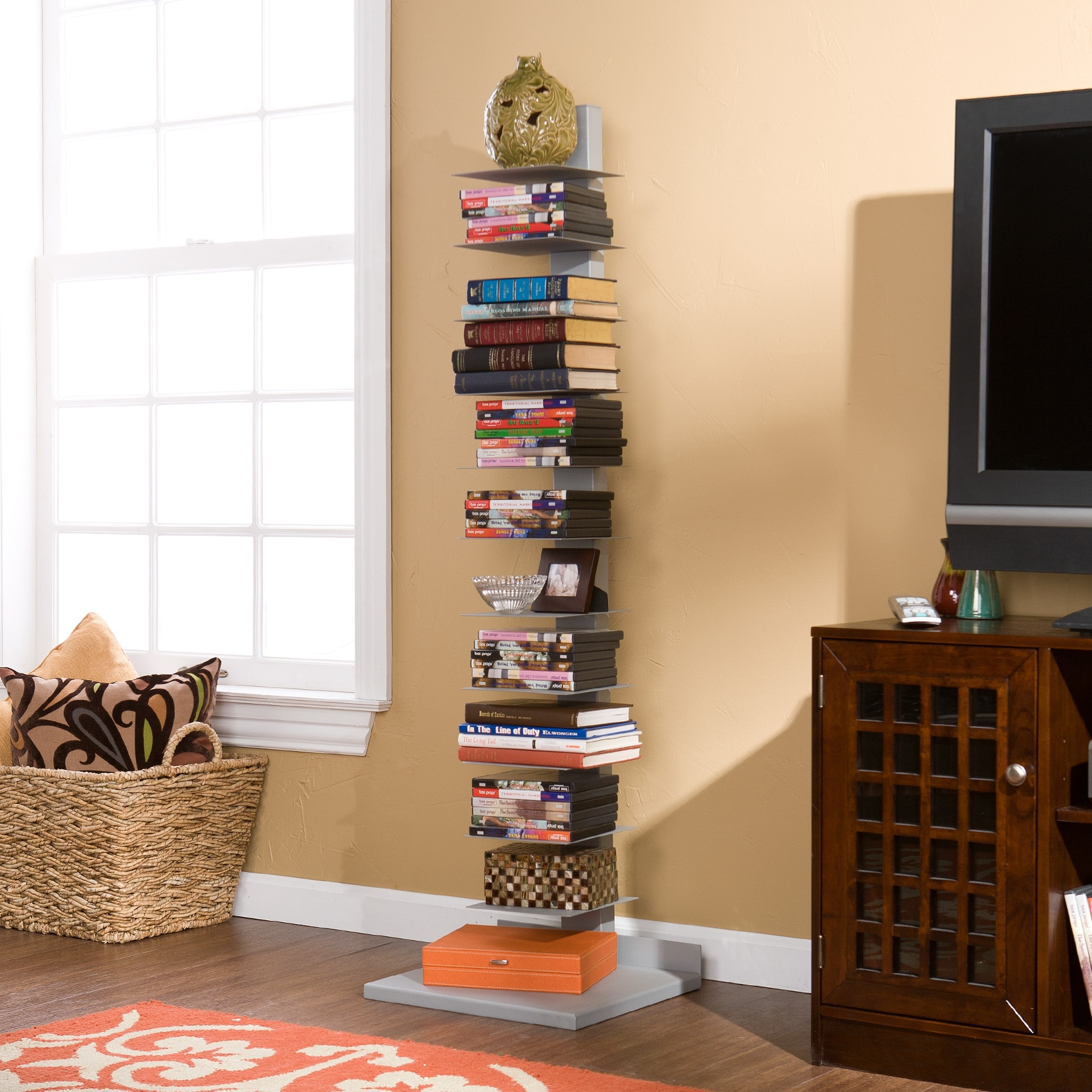 quartzy says a you organize system spine bookshelf img what how bookcase about your style and to