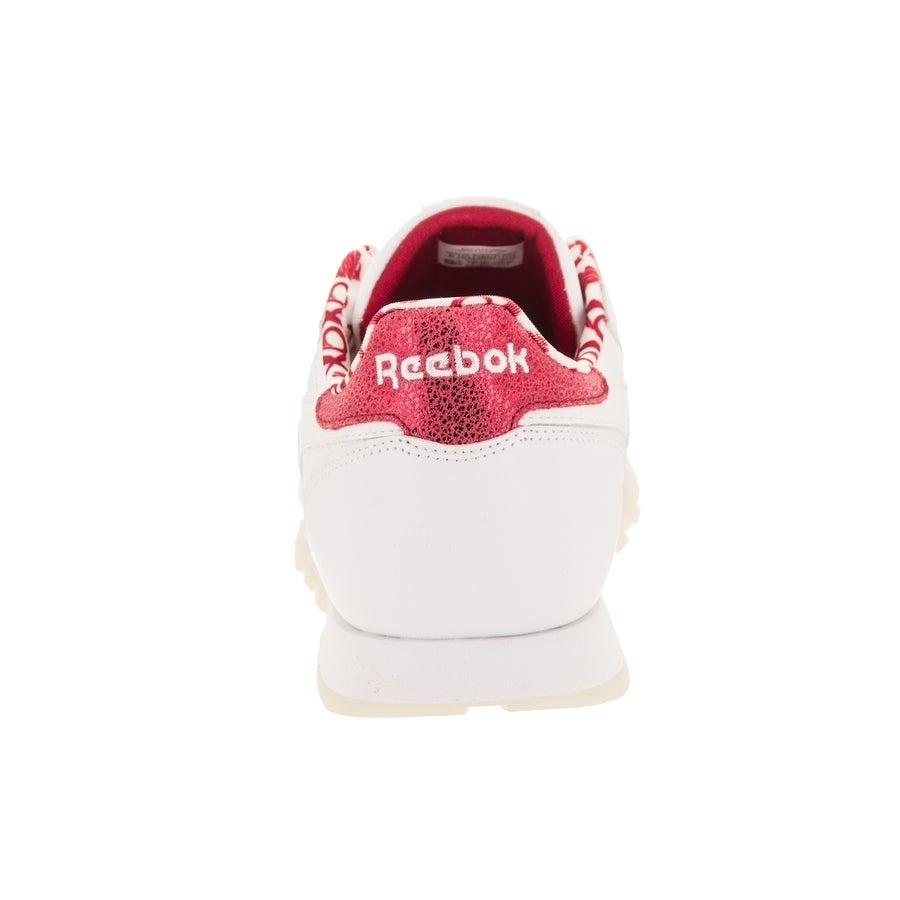 d675623837c3 Shop Reebok Kids Classic Leather Hearts Casual Shoe - Free Shipping On  Orders Over  45 - Overstock.com - 26881904