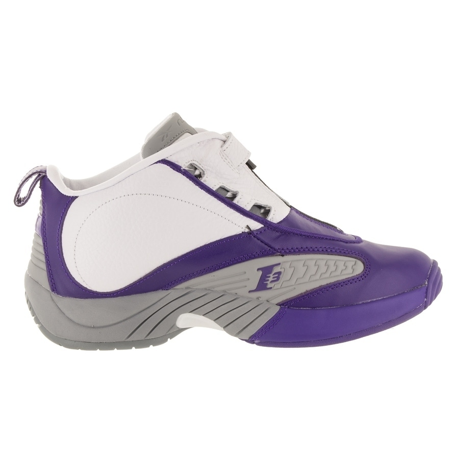 Shop Reebok Men s Answer IV PE Basketball Shoe - Free Shipping Today -  Overstock.com - 26881929 fd7d99b5d
