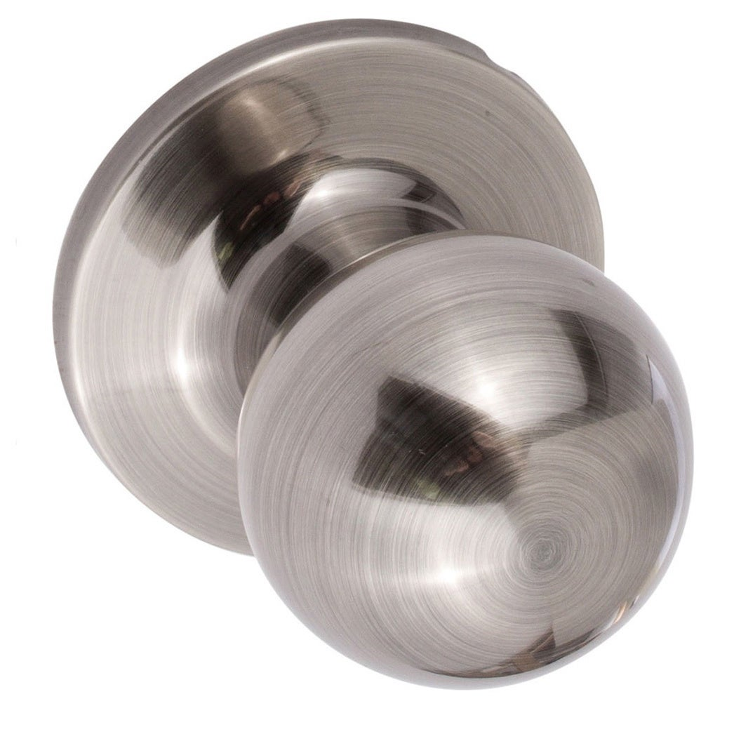 Sure Loc Round Passage Door Knob (2 Complete Sets)   Free Shipping On  Orders Over $45   Overstock   10881871