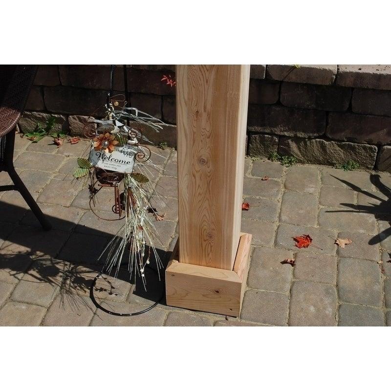 10x12 Wood Pergola Kit (8x8 Posts)