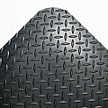 Industrial Deck Plate Black Antifatigue Mat (36 in. x 60 in.)