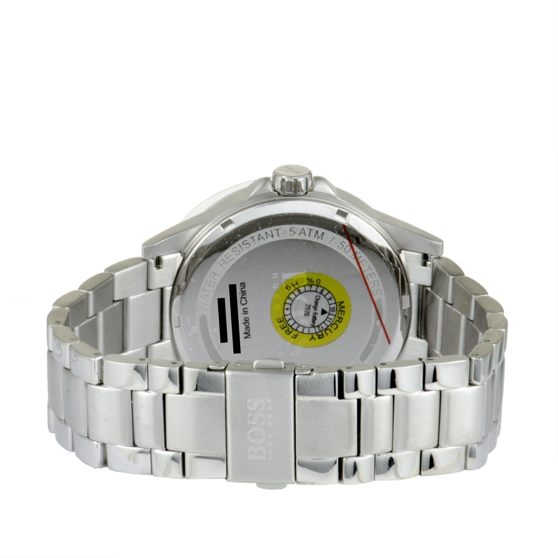 c50db463f Shop Hugo Boss Aviator Casual Sport Men's Watch Black 1513518 - On Sale -  Ships To Canada - Overstock - 26959848