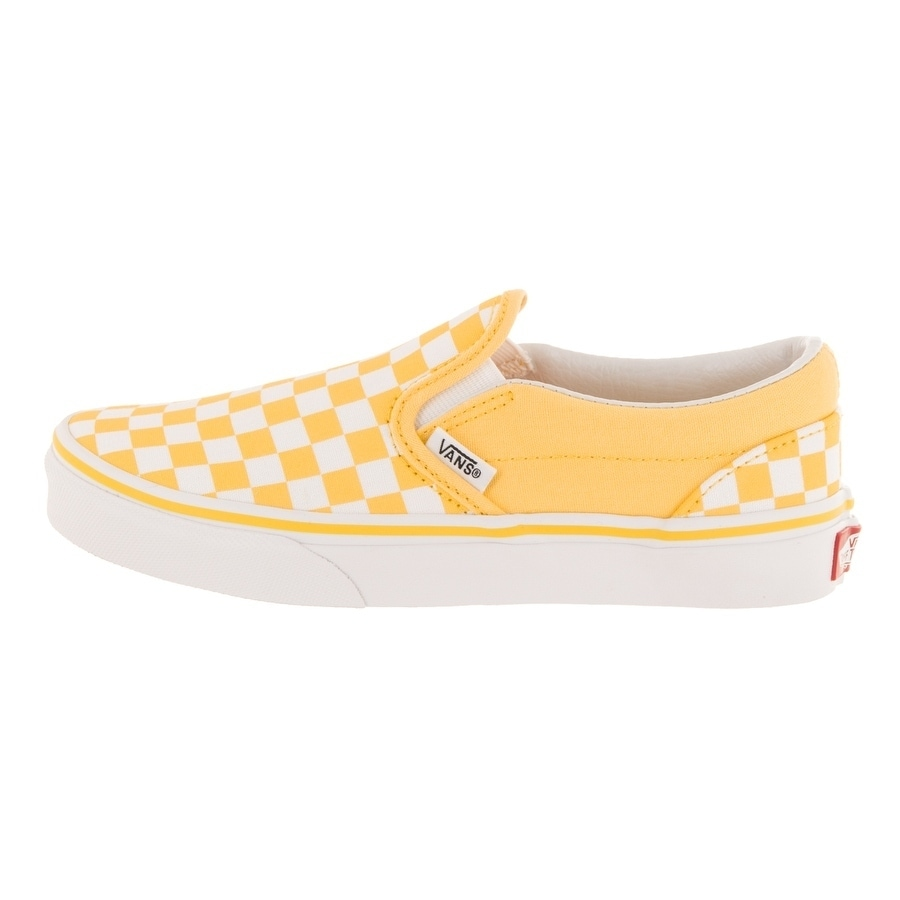 64a6c0c42e35f0 Shop Vans Kids Classic Slip-On (Checkerboard) Skate Shoe - Free Shipping On  Orders Over  45 - Overstock - 26961017