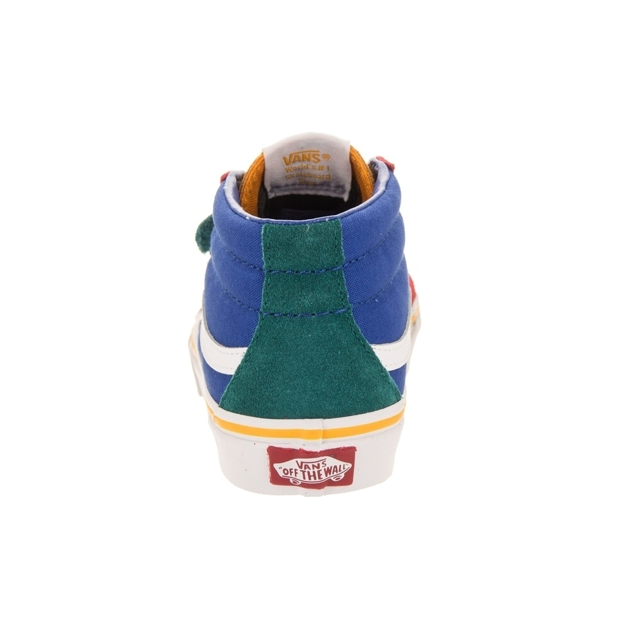 39cd054170 Shop Vans Kids Sk8-Mid Reissue V (Primary Block) Skate Shoe - Free Shipping  Today - Overstock - 26961018