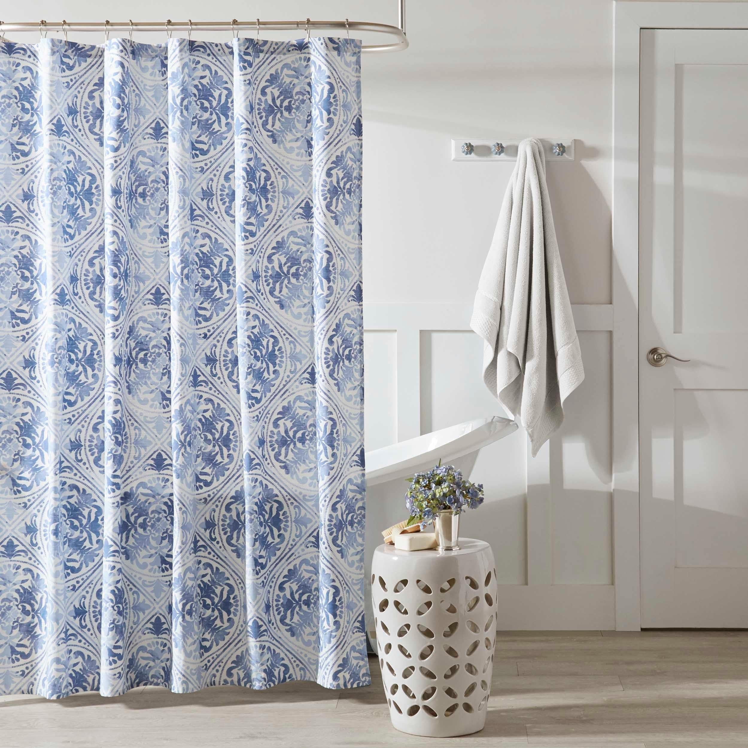 Shop Laura Ashley Mila Shower Curtain