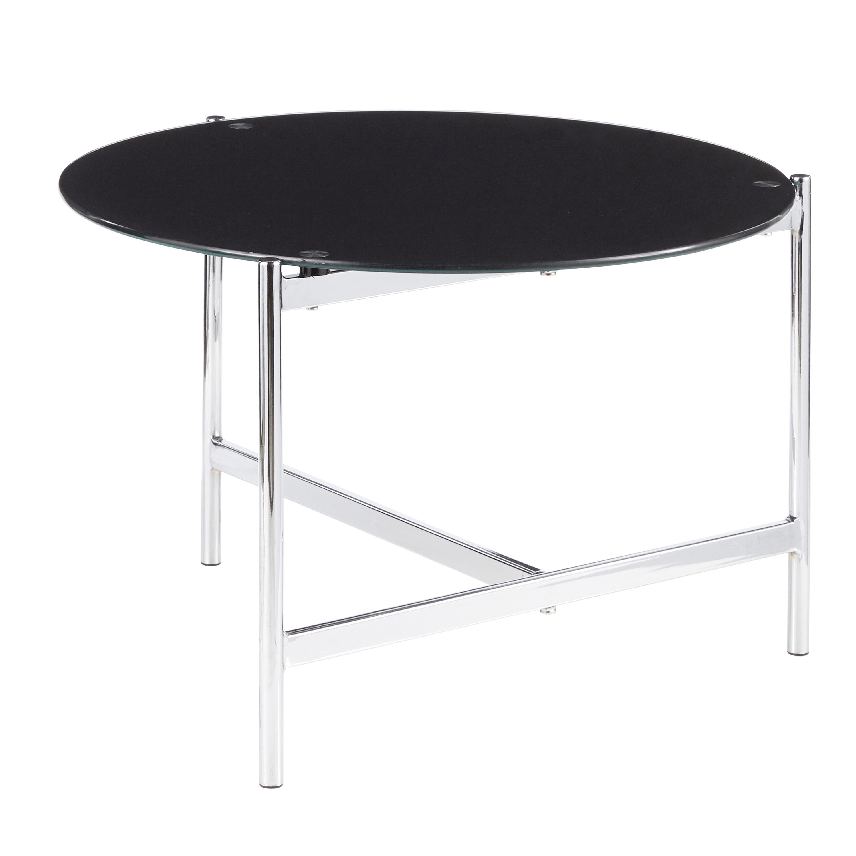 Astounding Chloe Contemporary Round Coffee Table Bralicious Painted Fabric Chair Ideas Braliciousco