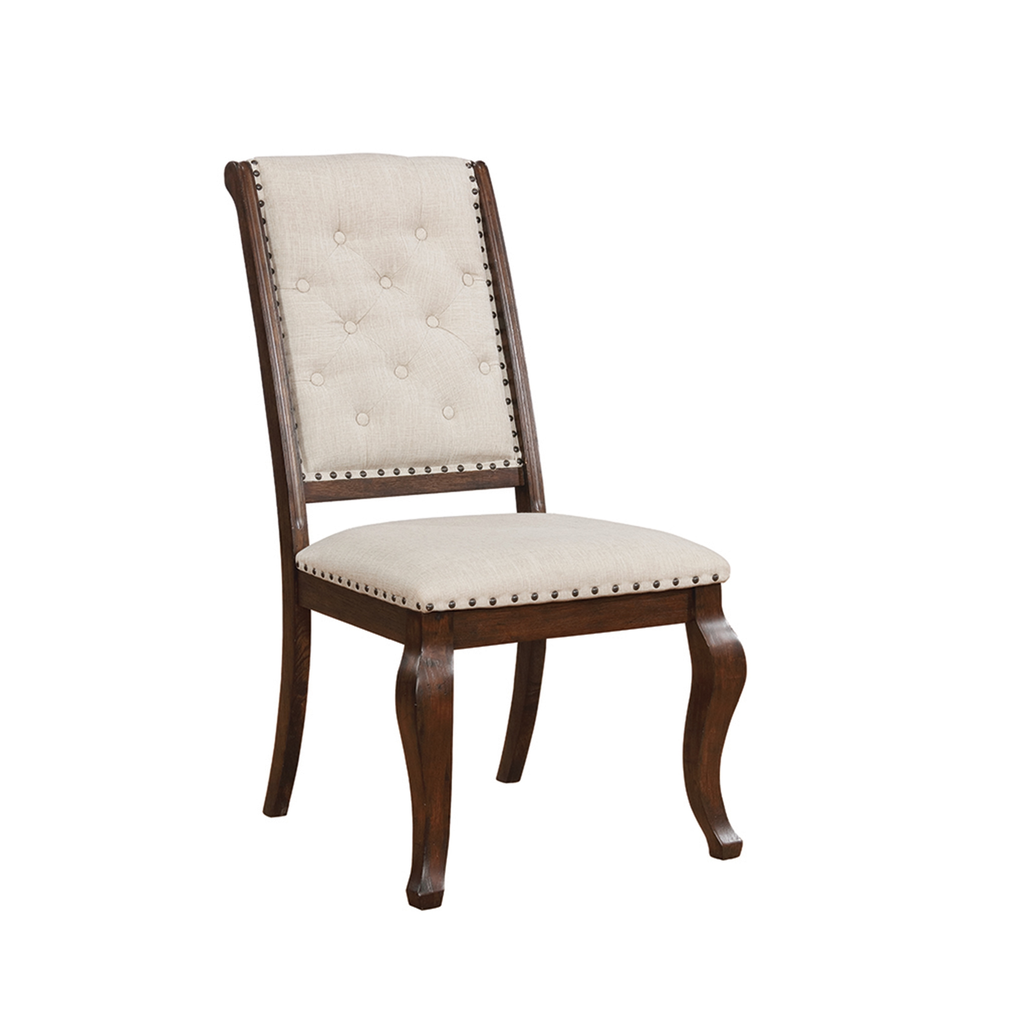 Shop Jarvis Traditional Tufted Dining Chairs (Set of 2) - On Sale - Free Shipping Today - Overstock - 27220860  sc 1 st  Overstock.com & Shop Jarvis Traditional Tufted Dining Chairs (Set of 2) - On Sale ...