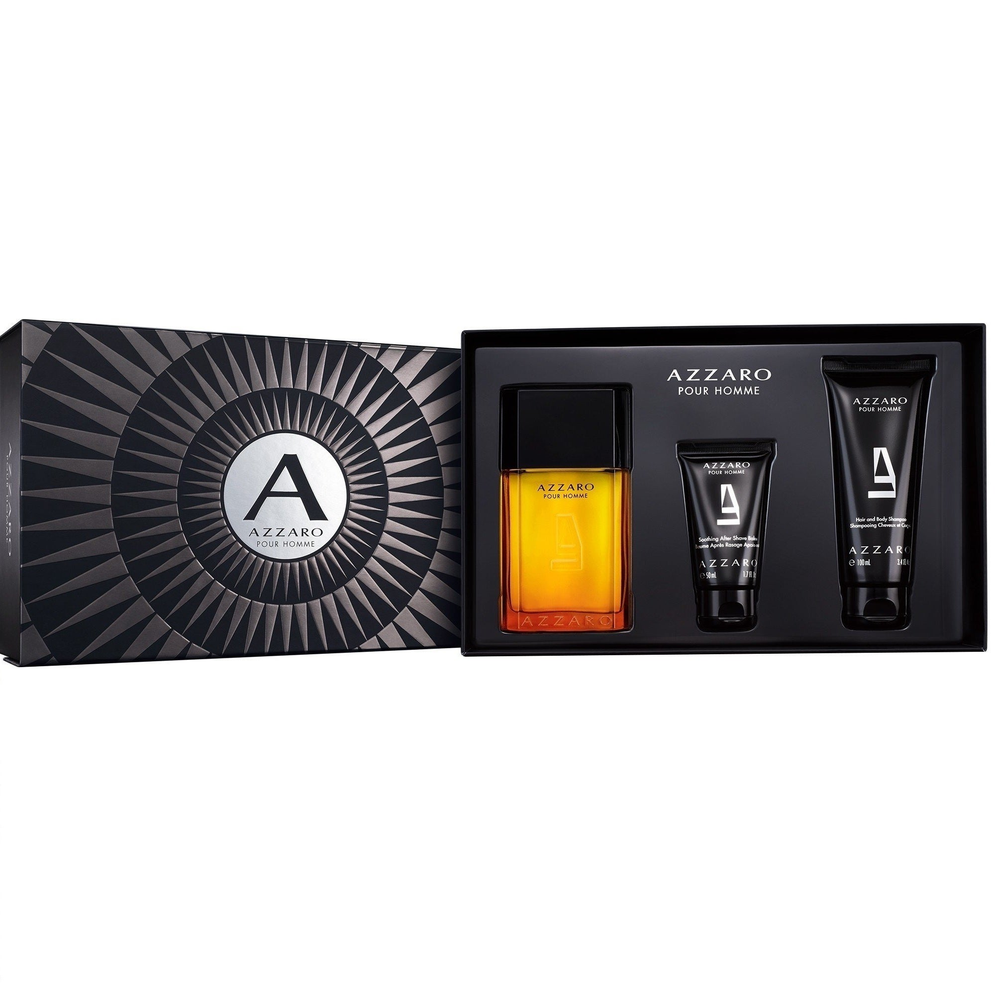 Shop Azzaro Pour Homme Mens 3 Piece Gift Set Free Shipping Today