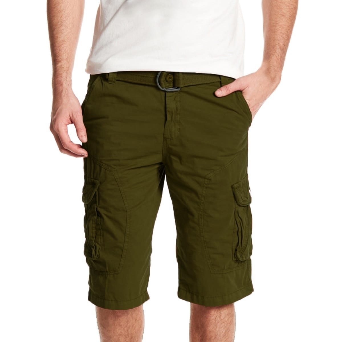 5629c499ae Shop Xray Jeans Mens Belted All Season Casual Cargo Shorts - Free Shipping  On Orders Over $45 - Overstock - 27366357