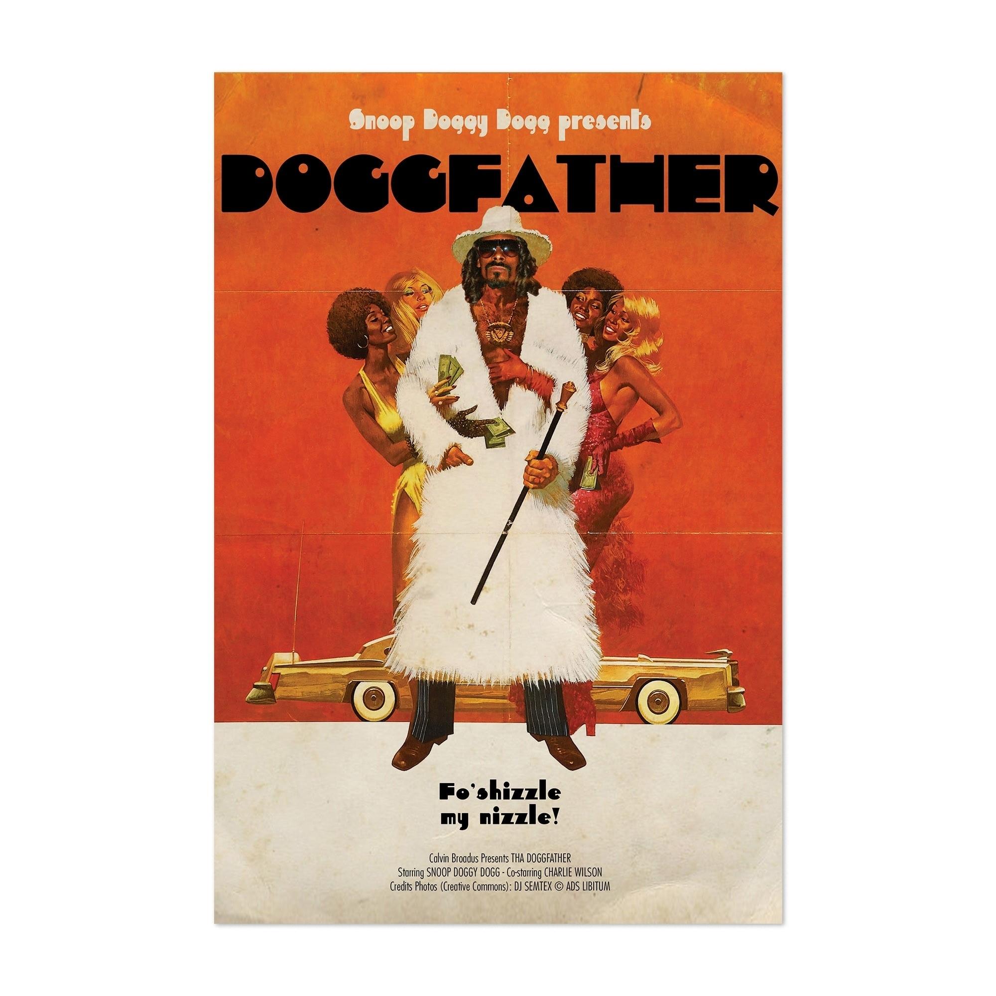 Noir Gallery Snoop Dogg Hip Hop Music Rappers Unframed Art Print/Poster