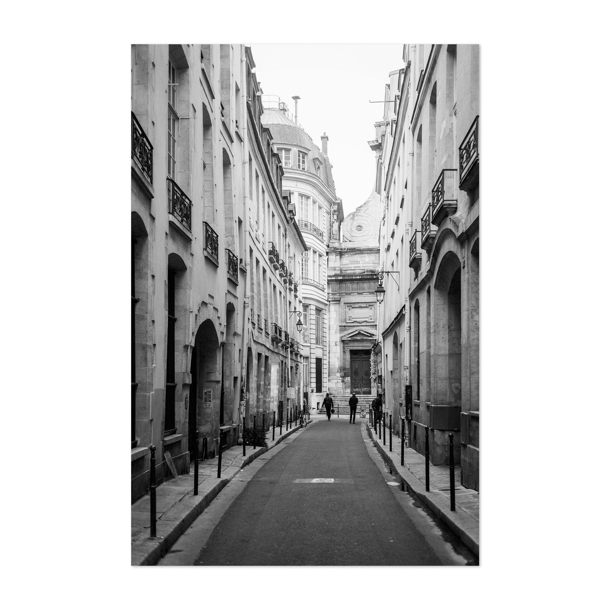 Shop noir gallery black white paris france photo unframed art print poster free shipping on orders over 45 overstock 27460942