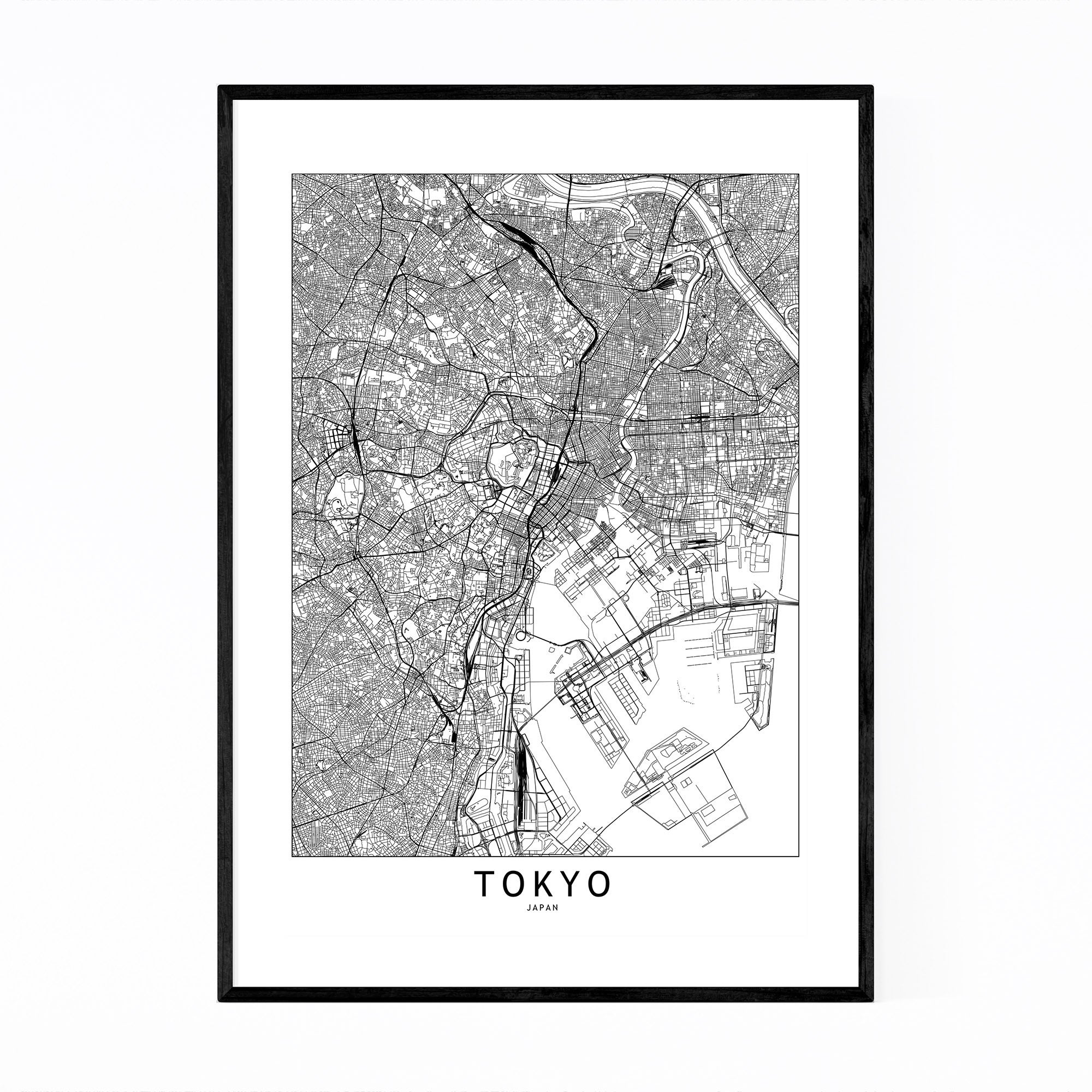 Image of: Jungle Maps Printable Map Of Japan Black And White