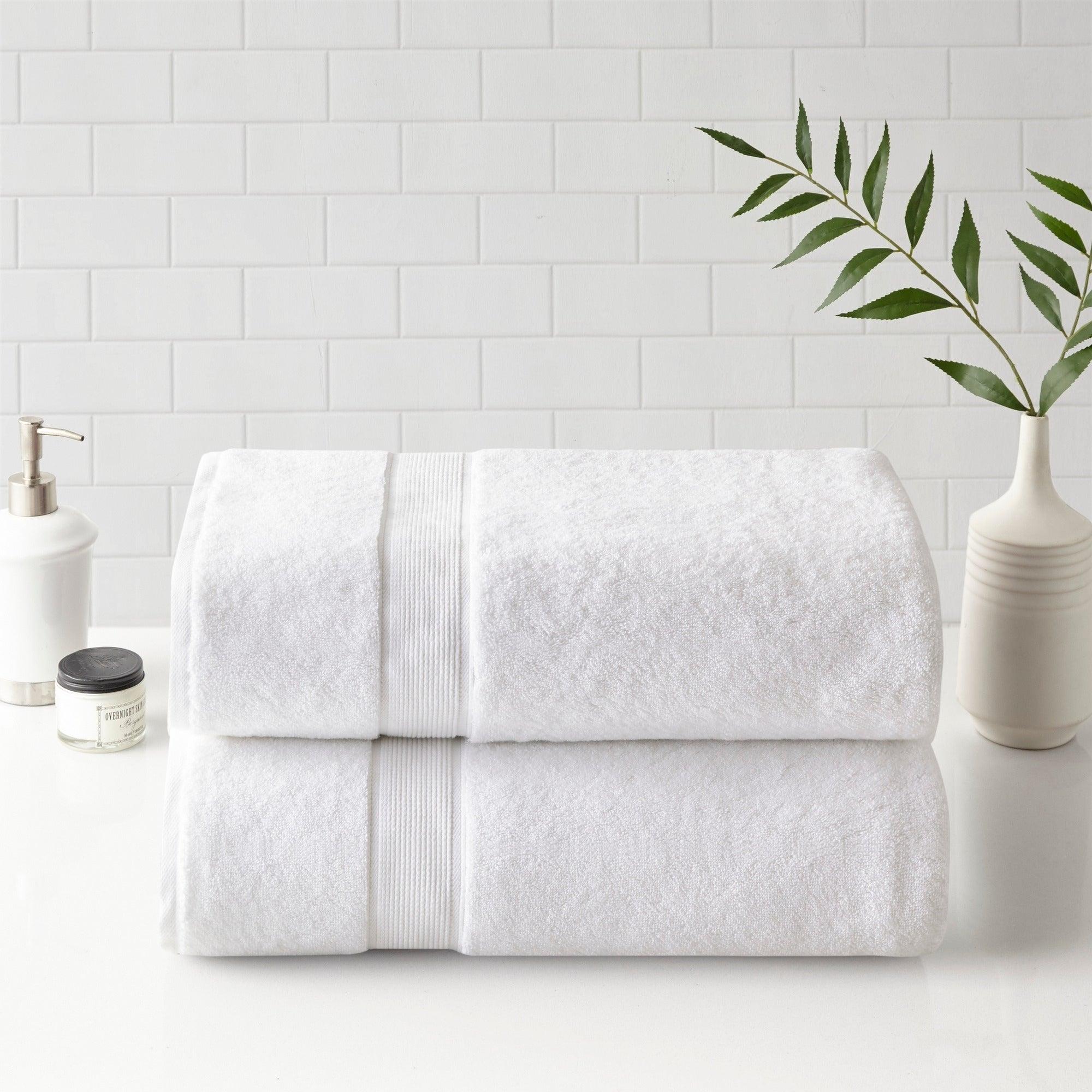 2ade60917ff8 Shop Madison Park Signature 800gsm 100-percent Cotton Bath Sheet 2 Piece Set  3-Color Option - 34