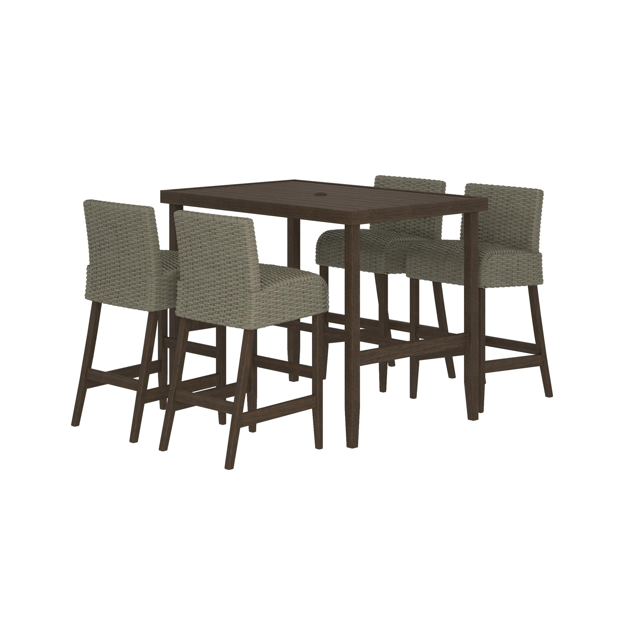 Super Cosco Outdoor Furniture Villa Park Smartwick Patio Dining Set 5 Piece Set Download Free Architecture Designs Barepgrimeyleaguecom