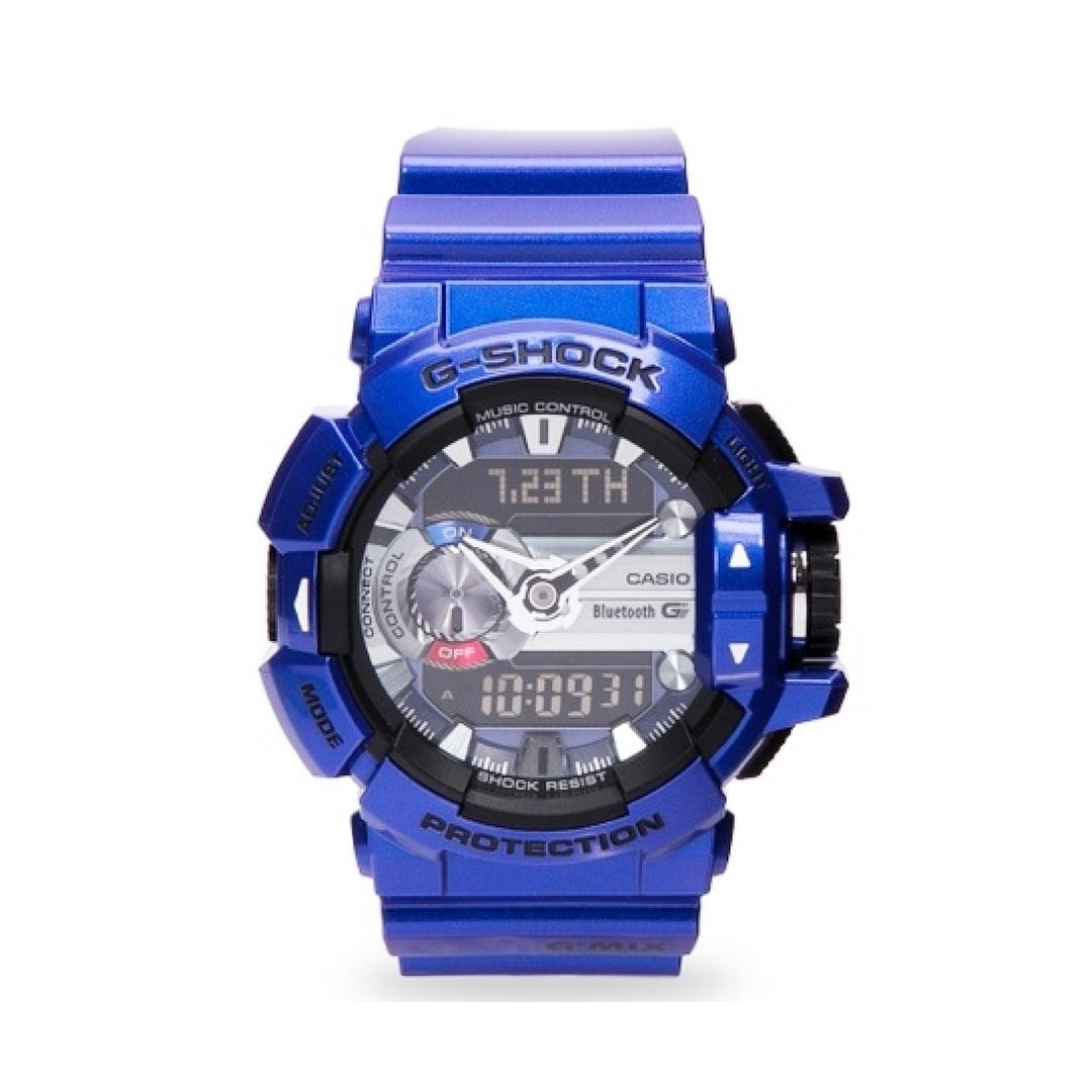 half off 01a0e f5a47 Casio Men's GBA400-2A 'G-Shock' Blue Resin Watch