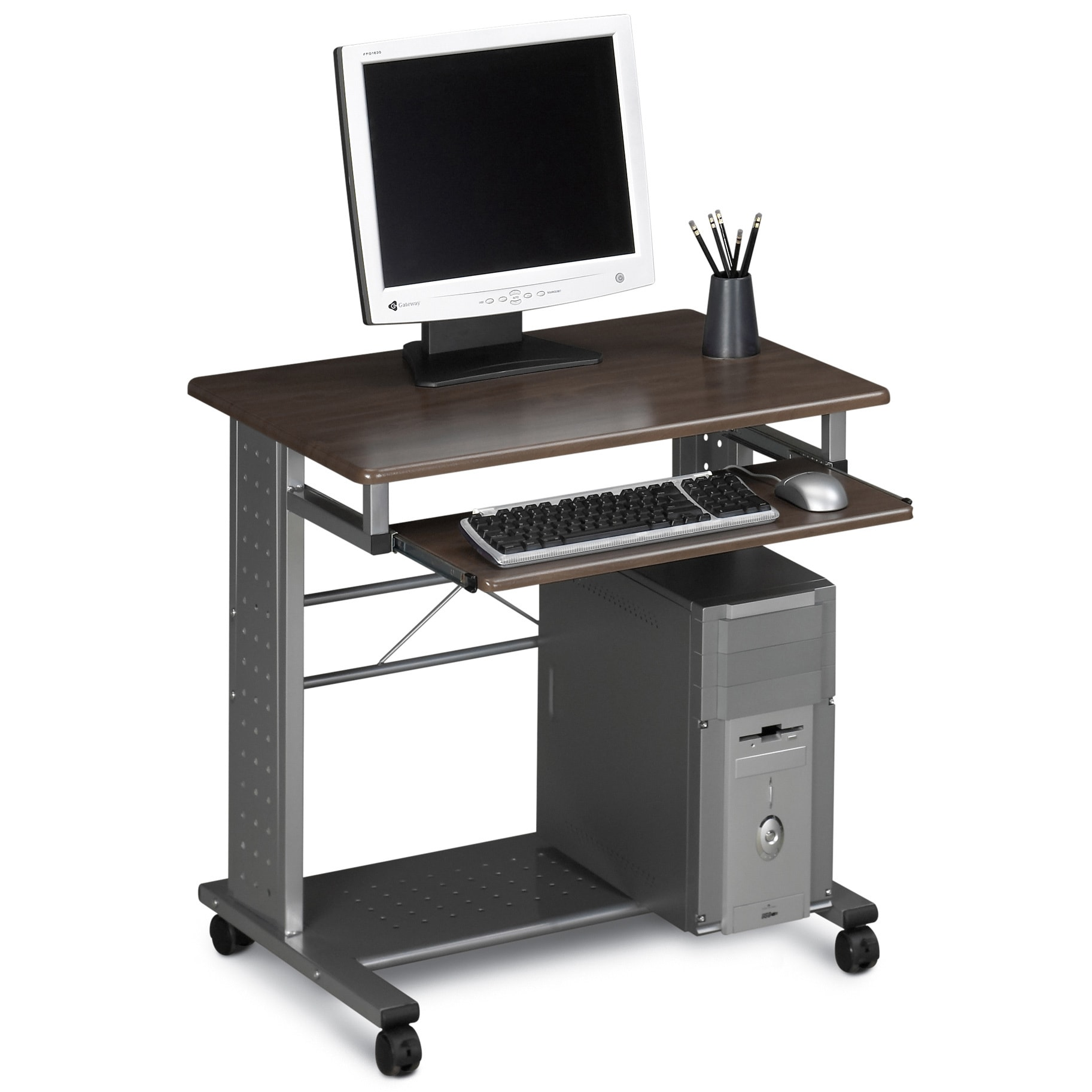 electric desk mayline by corner stand furniture products sit