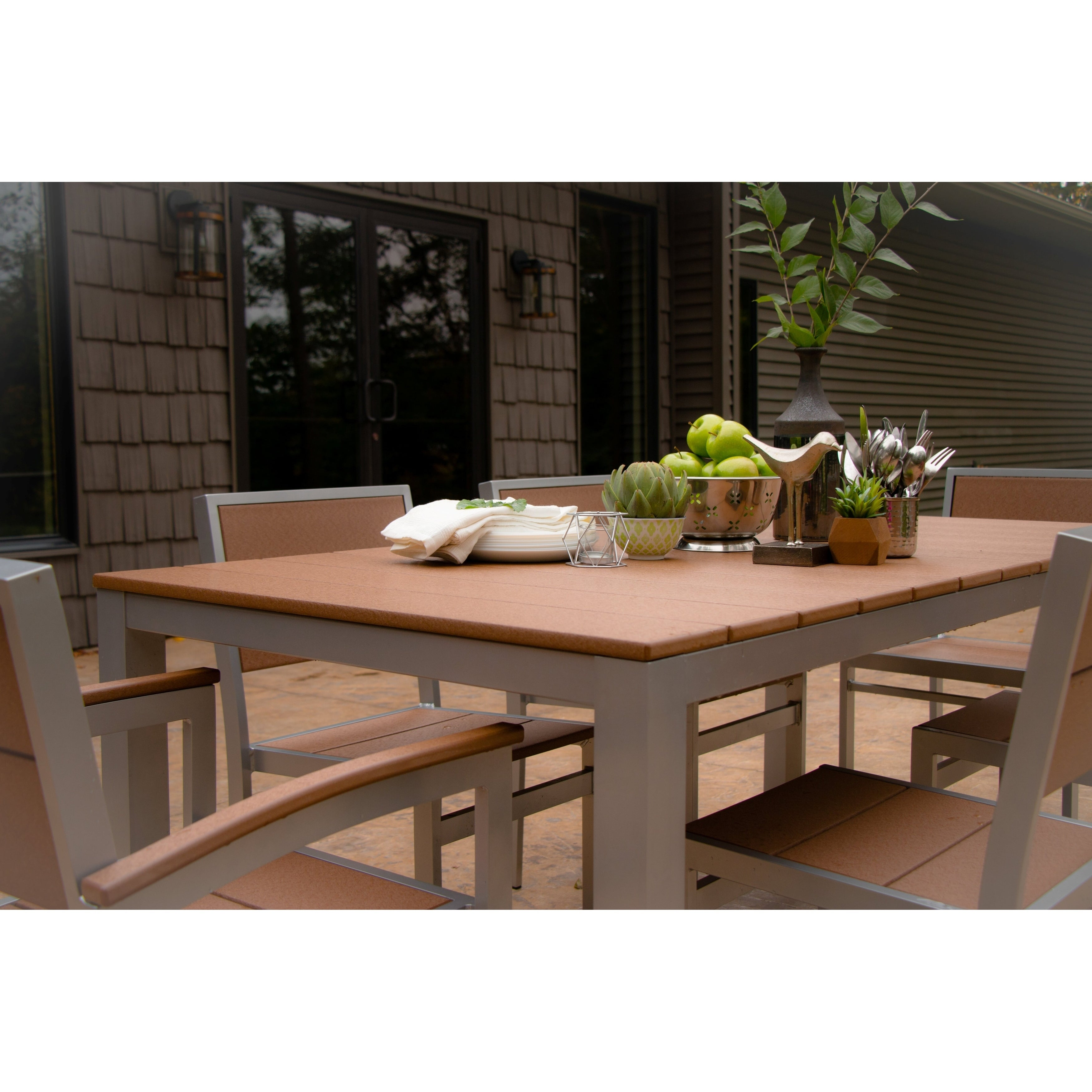 Awesome Wyndtree Aluminum Outdoor Dining Set Made In Usa Download Free Architecture Designs Scobabritishbridgeorg