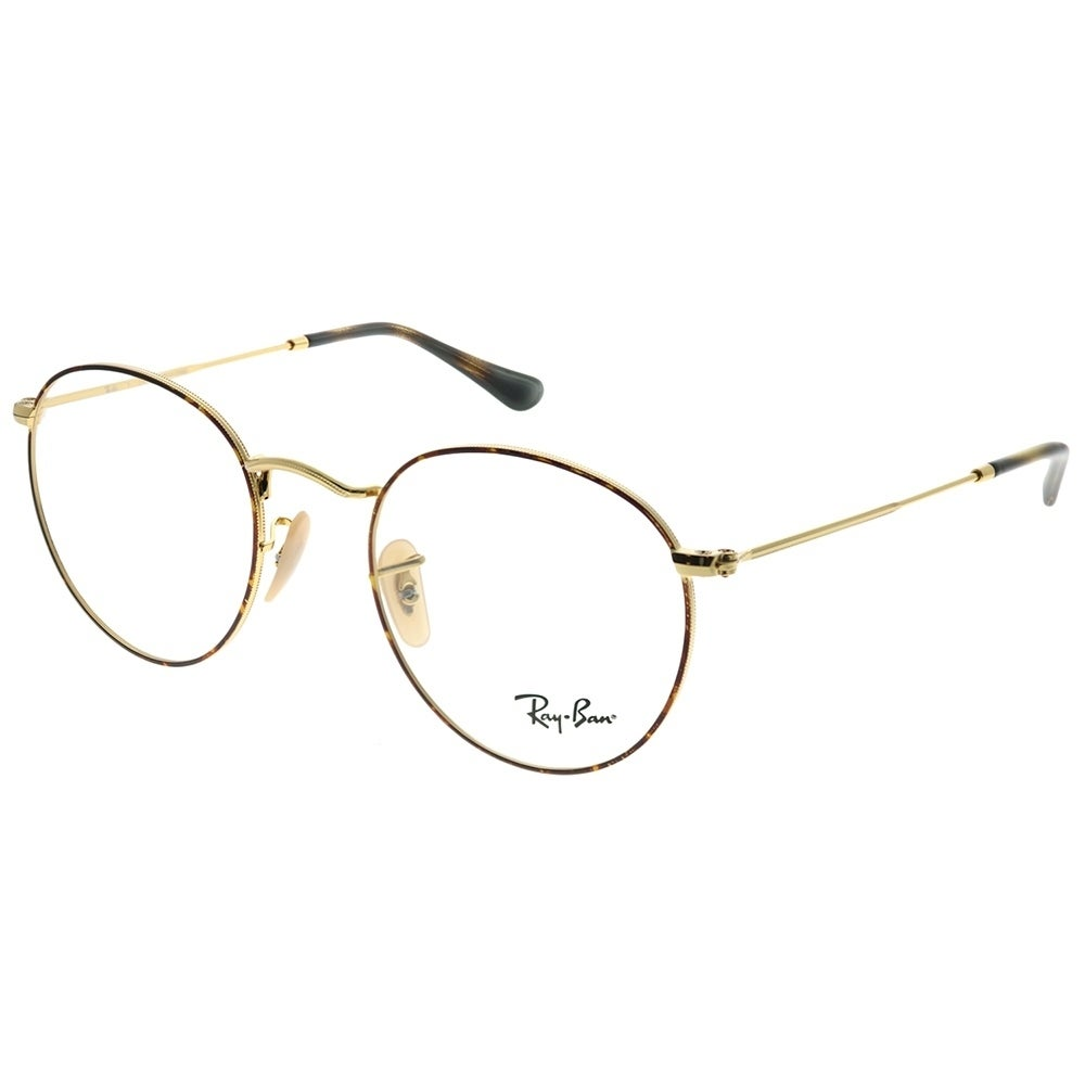 9cb4458bfef9f Shop Ray-Ban Round Metal Unisex Gold Frame Eyeglasses - Free Shipping Today  - Overstock - 27748351