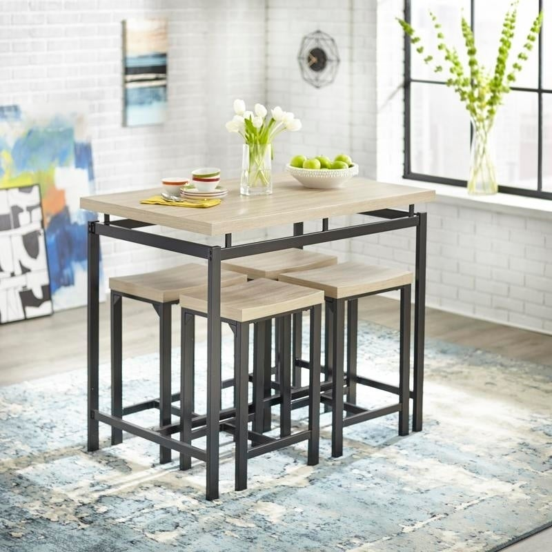 83c6e17bb96a Shop Simple Living Delano Counter Height Dining Set - On Sale - Free  Shipping Today - Overstock - 27775629