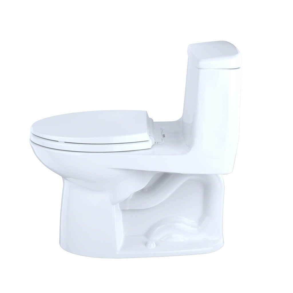 Toto Ultramax One Piece Elongated 1 6 Gpf Toilet Ms854114s 01 Cotton White Free Shipping Today 2780658