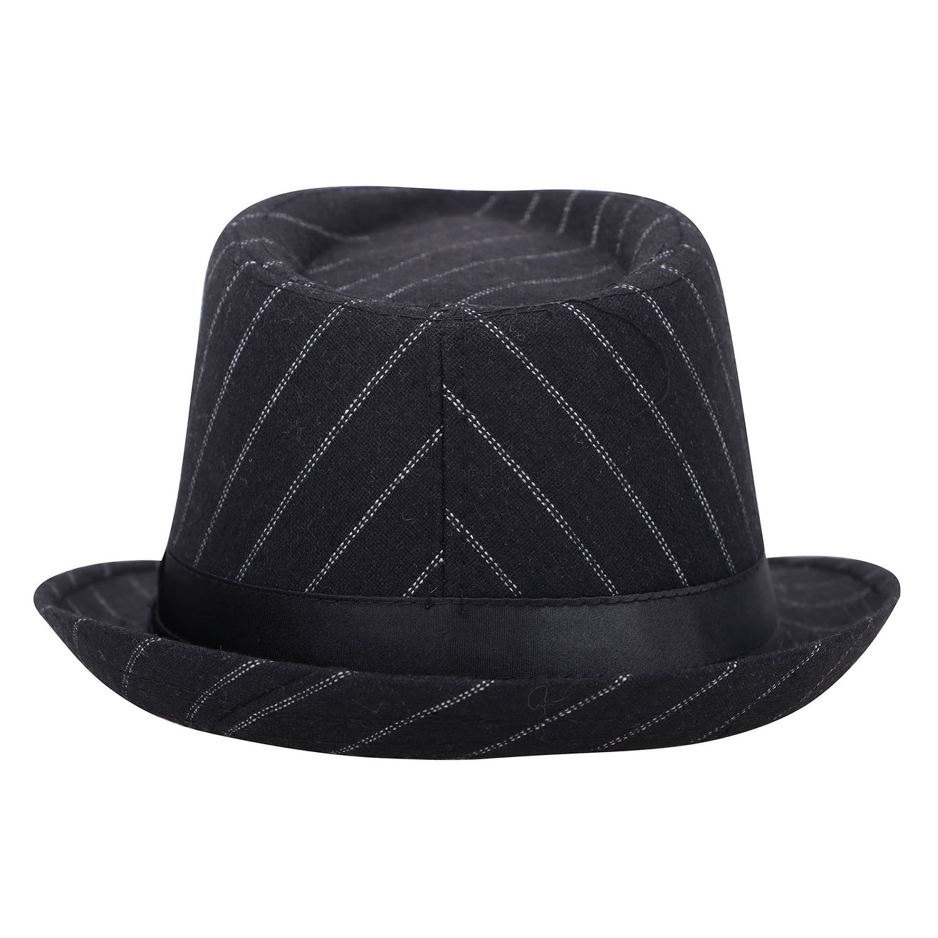 568b505301025 Shop Men s Classic Manhattan Structured Gangster Trilby Fedora Hat - On  Sale - Free Shipping On Orders Over  45 - Overstock - 27877176
