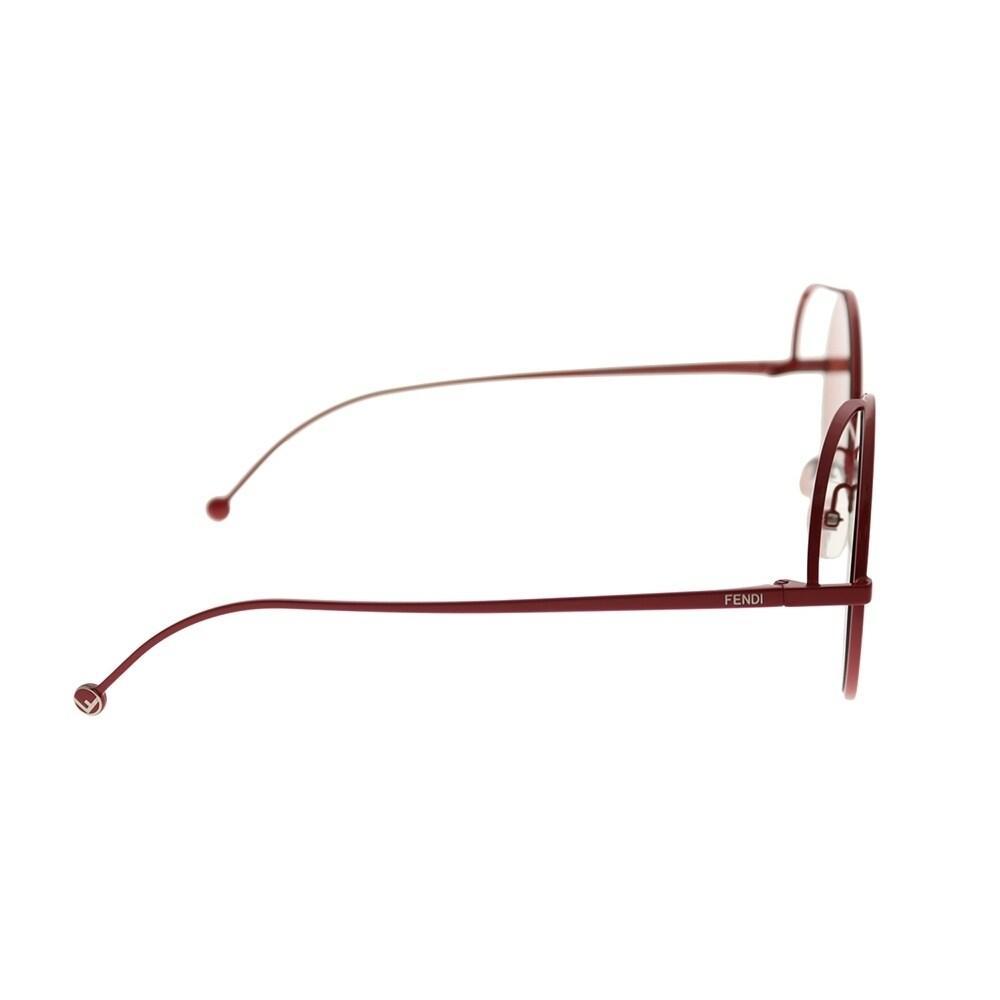 1f64f4096812 Shop Fendi Women's Fendirama Red Frame Red Fendi Logo Lens Sunglasses -  Free Shipping Today - Overstock - 27879792
