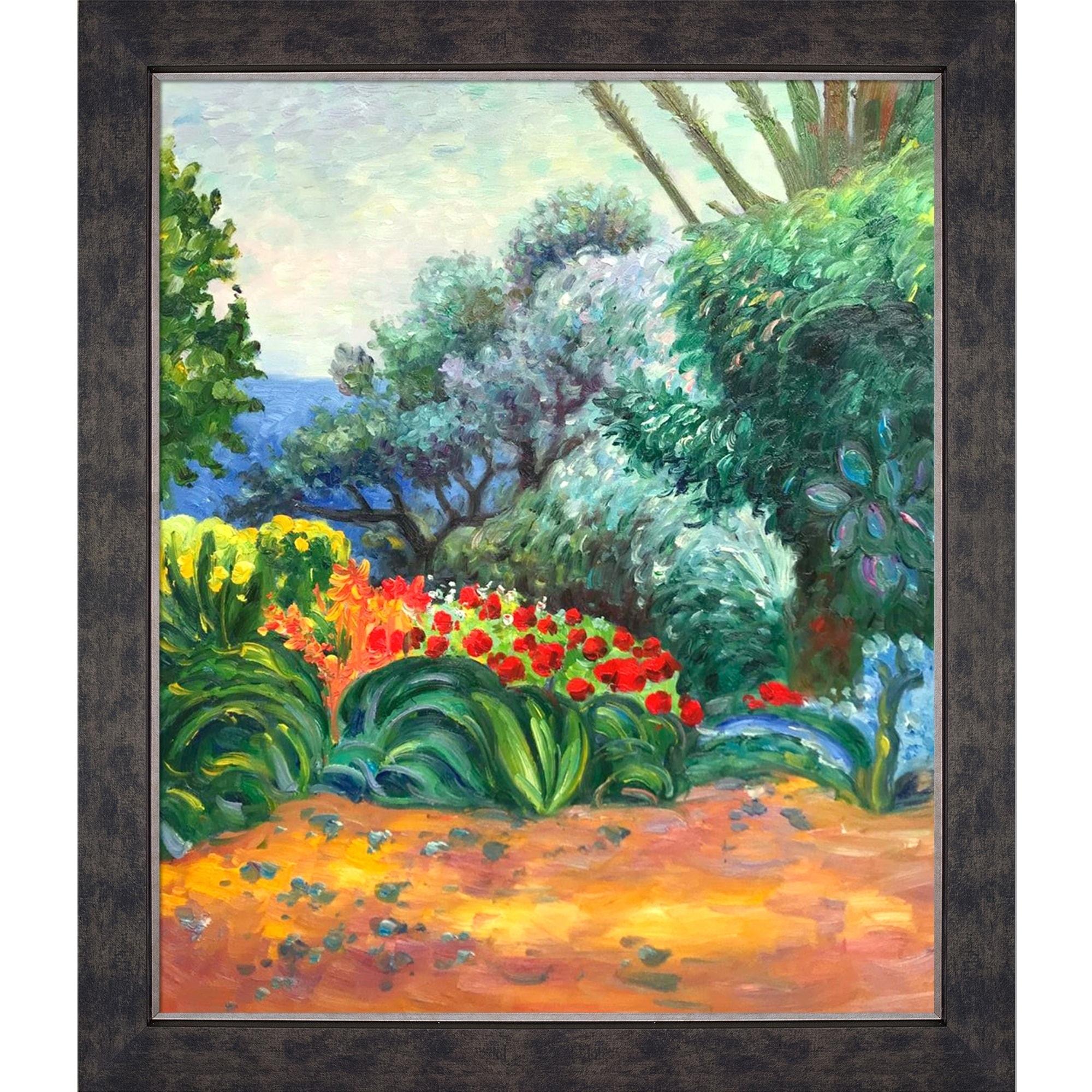 Shop Pierre Bonnard \'Coin de Jardin Fleuri\' Hand Painted Oil ...