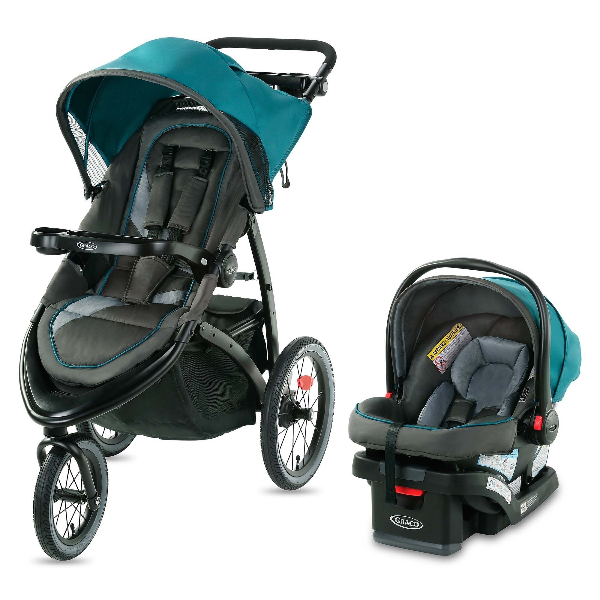 Graco Fastaction Jogger Lx Travel System Seaton