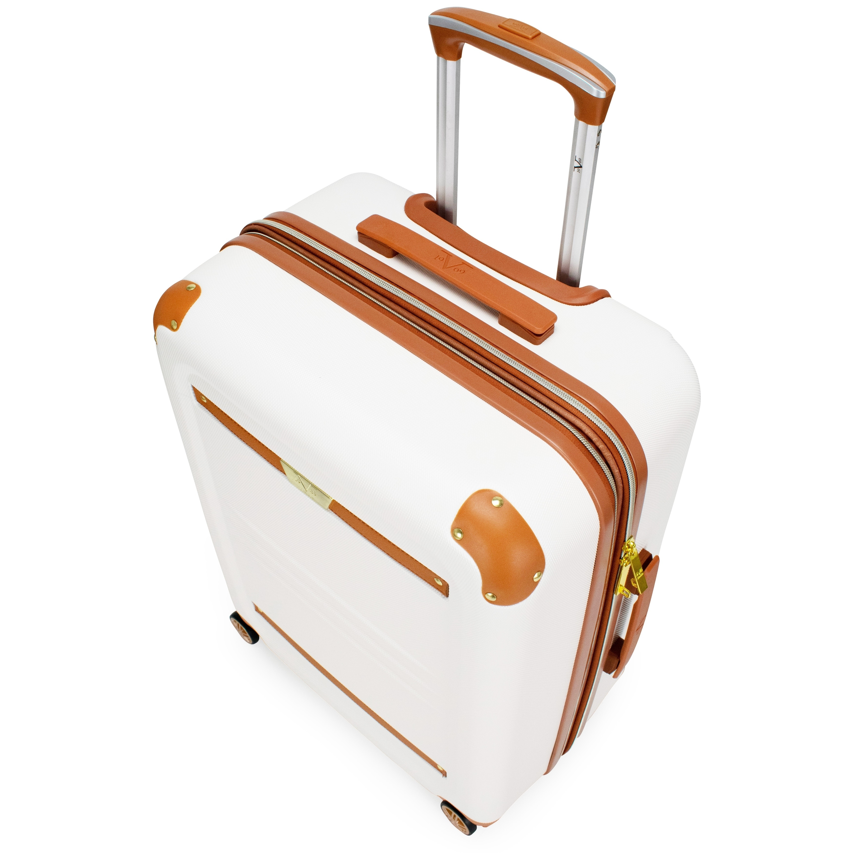 6801478ae Shop 19V69 Italia Vintage Hard Expandable Spinner Luggage Set (3-Piece) -  Free Shipping Today - Overstock - 27994928