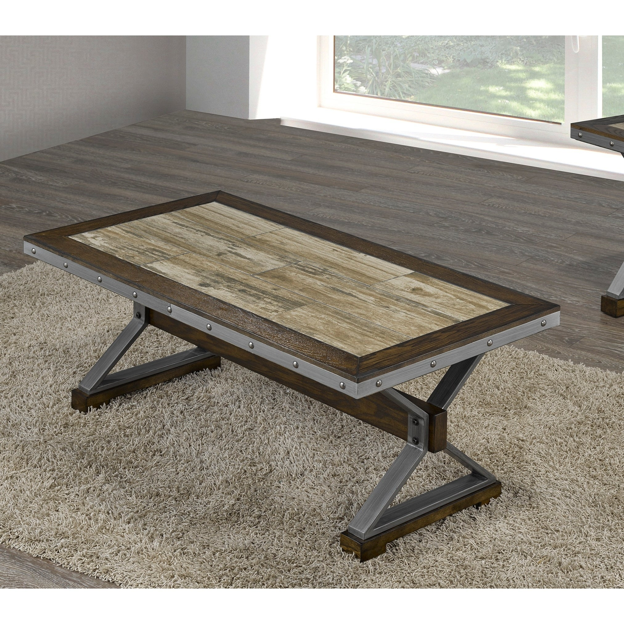 Shop Venetian Coffee Table, Walnut   Free Shipping Today   Overstock    28020882